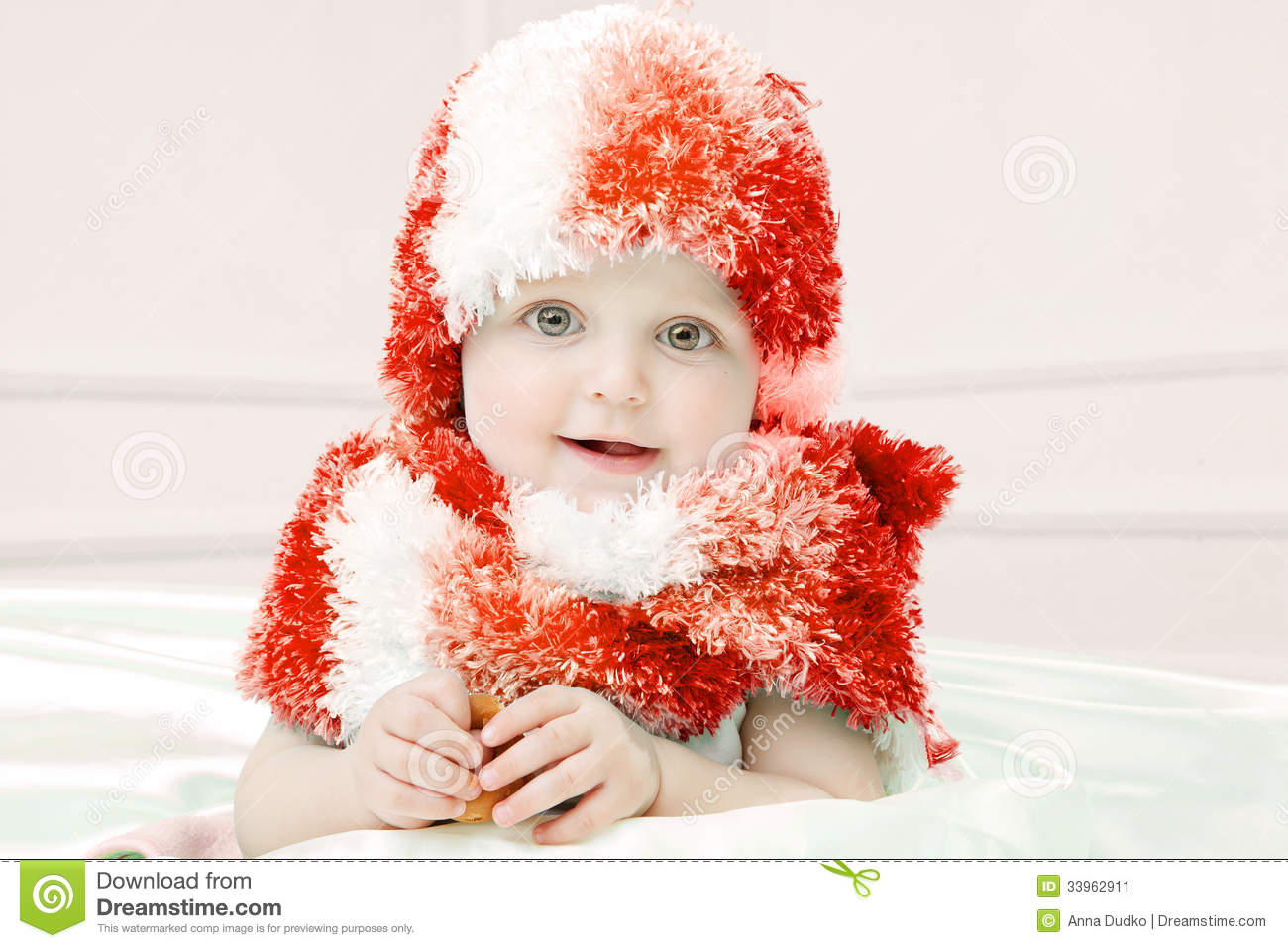 9c814f6973d6 Cute Baby At Winter Background Stock Image - Image of human