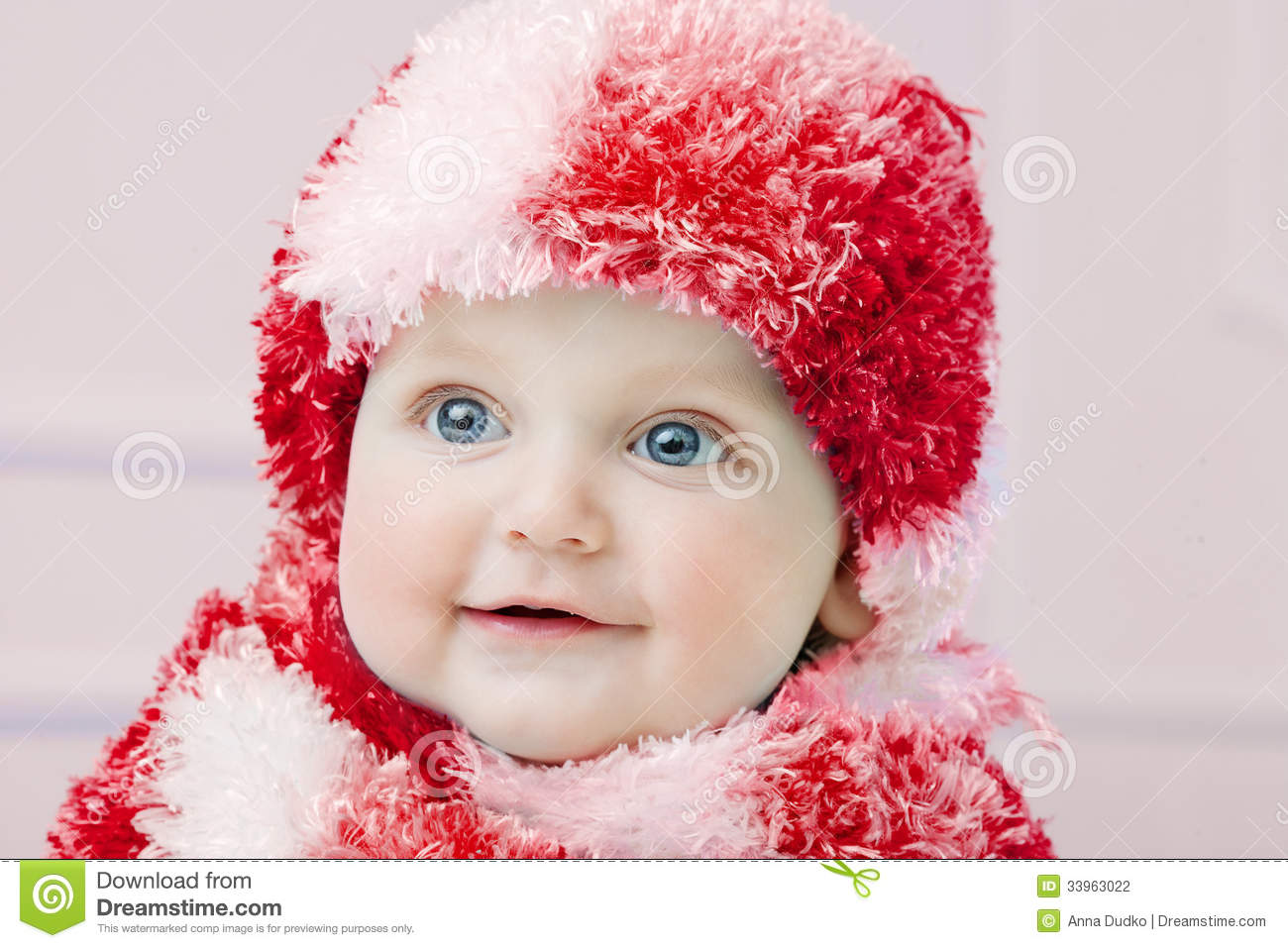3ab9273e4d4d Cute Baby At Winter Background Stock Photo - Image of healthy ...
