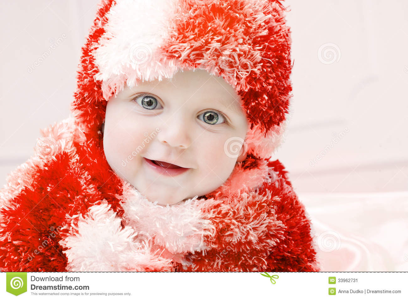 Cute baby at winter background stock image image 33962731