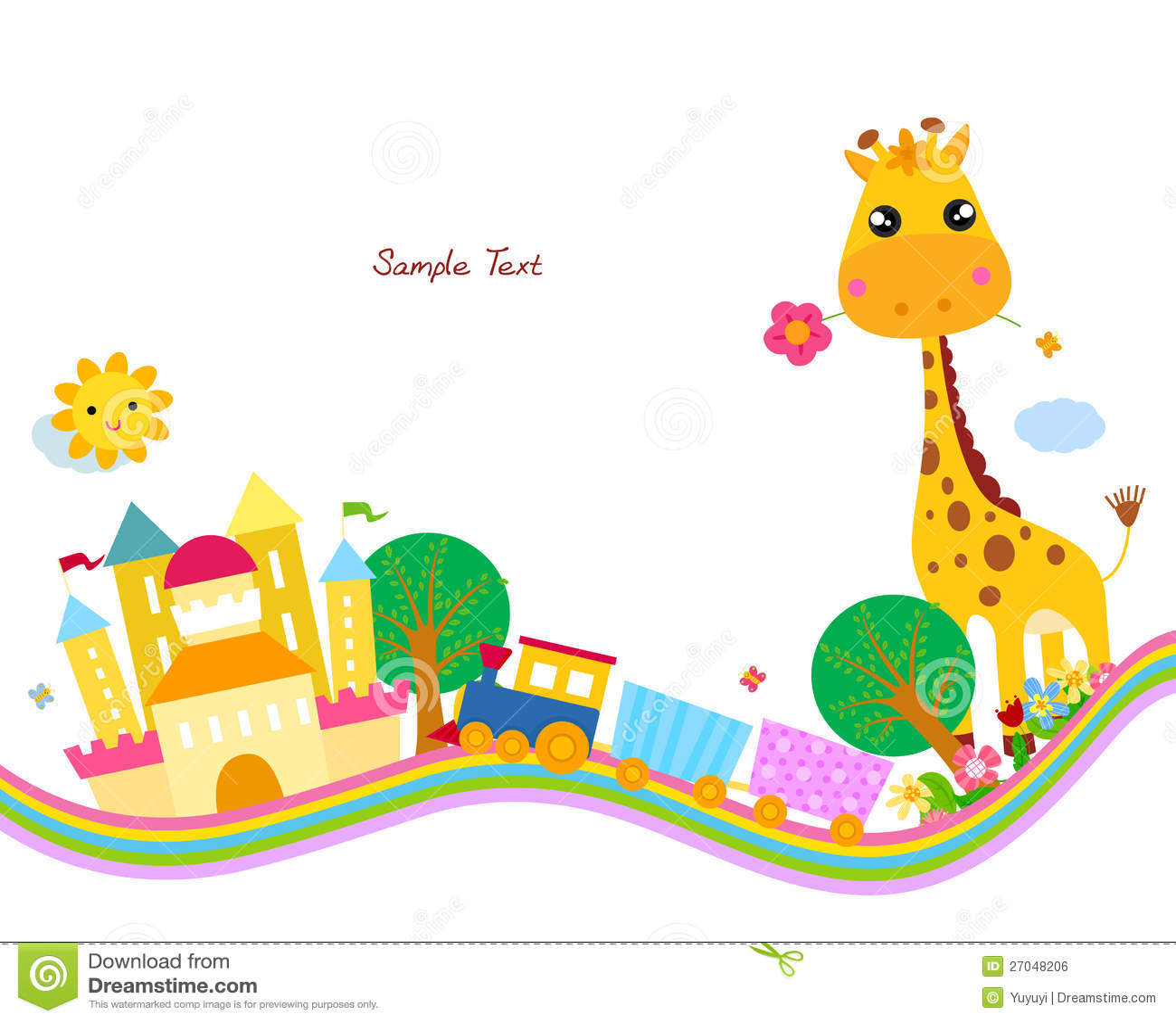 Cute Background,giraff...