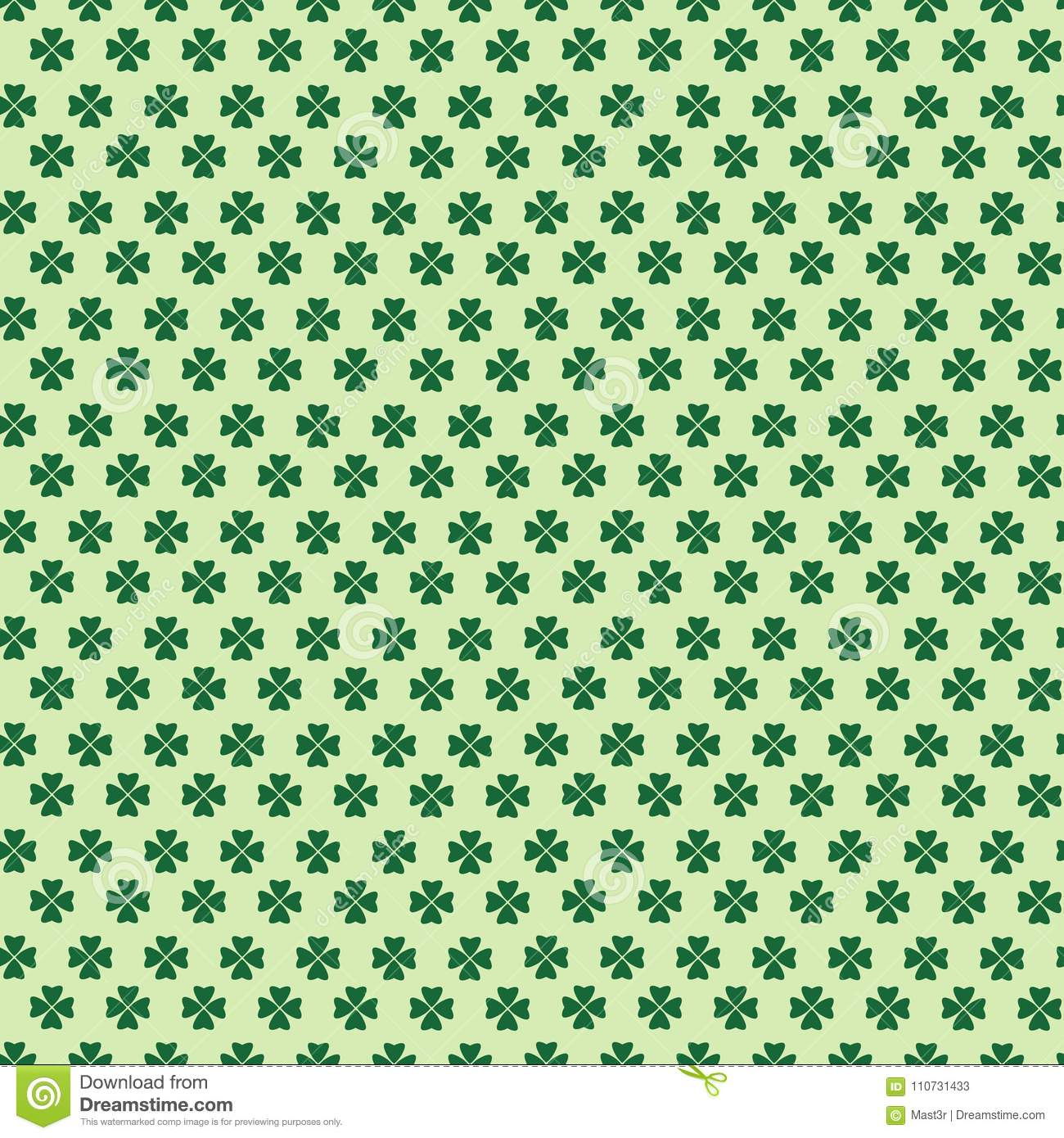 Cute Background For St Patricks Day Seamless Pattern Wallpaper