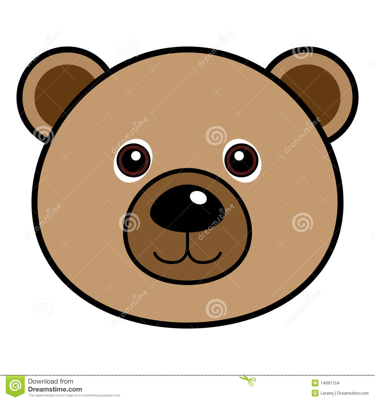 Cute Bear Vector Stock Images - Image: 14691154