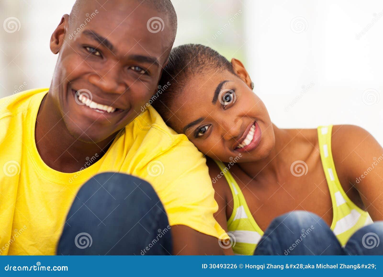 Cute Black Couple Royalty Free Stock Image Image 30493226