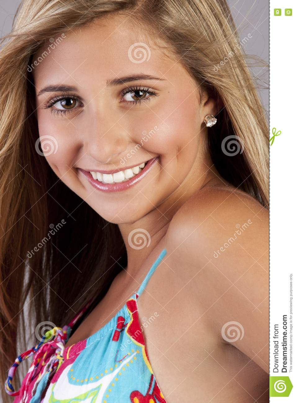 Cute Blond Teen Royalty Free Stock Images Image 15936219