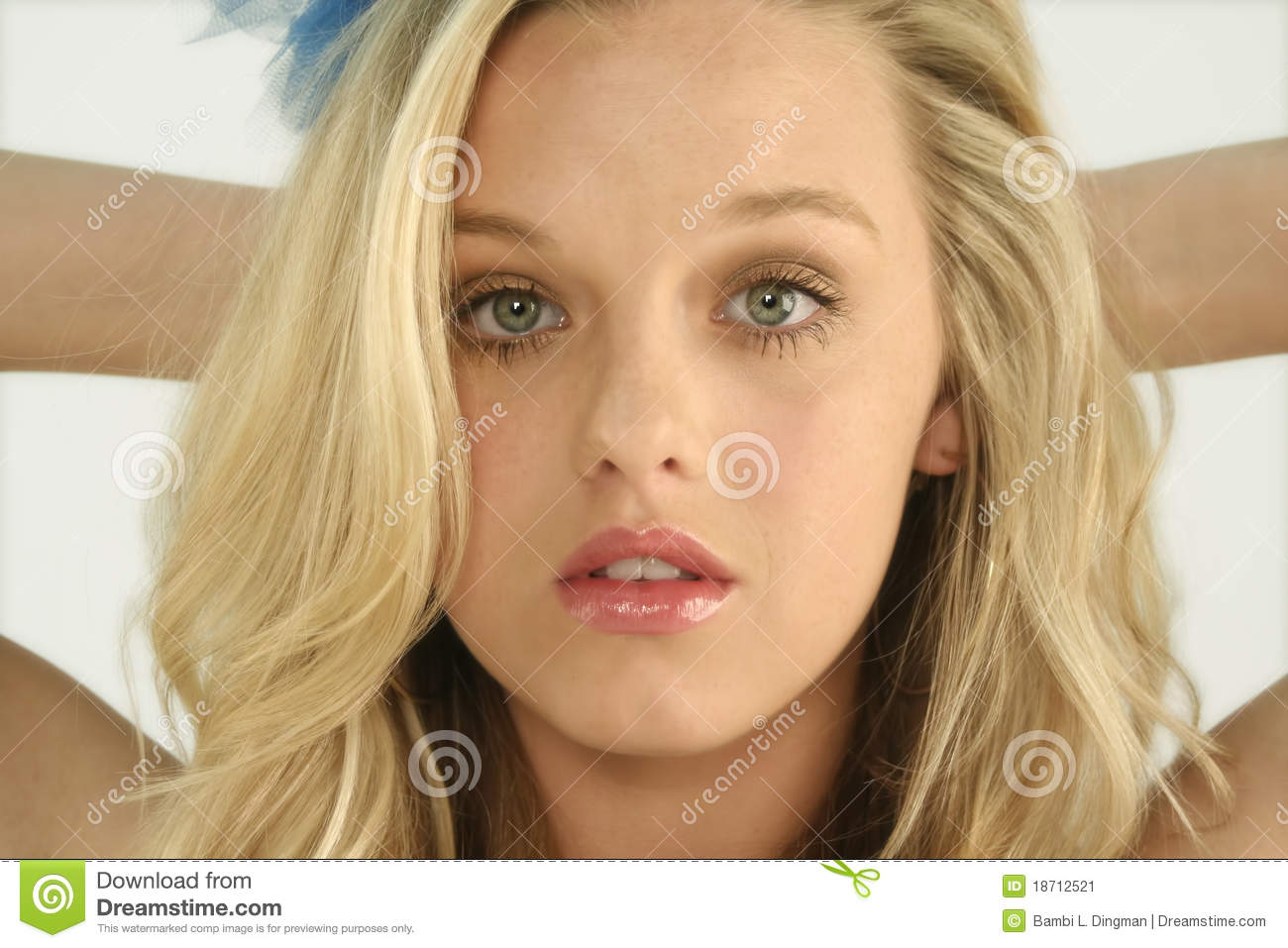 Cute blonde teen stock image image of fashion glossy Cute teenage girls pics