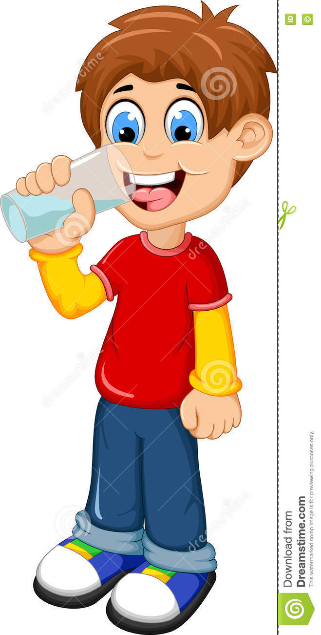 Drink Water Cartoon | www.pixshark.com - Images Galleries ...