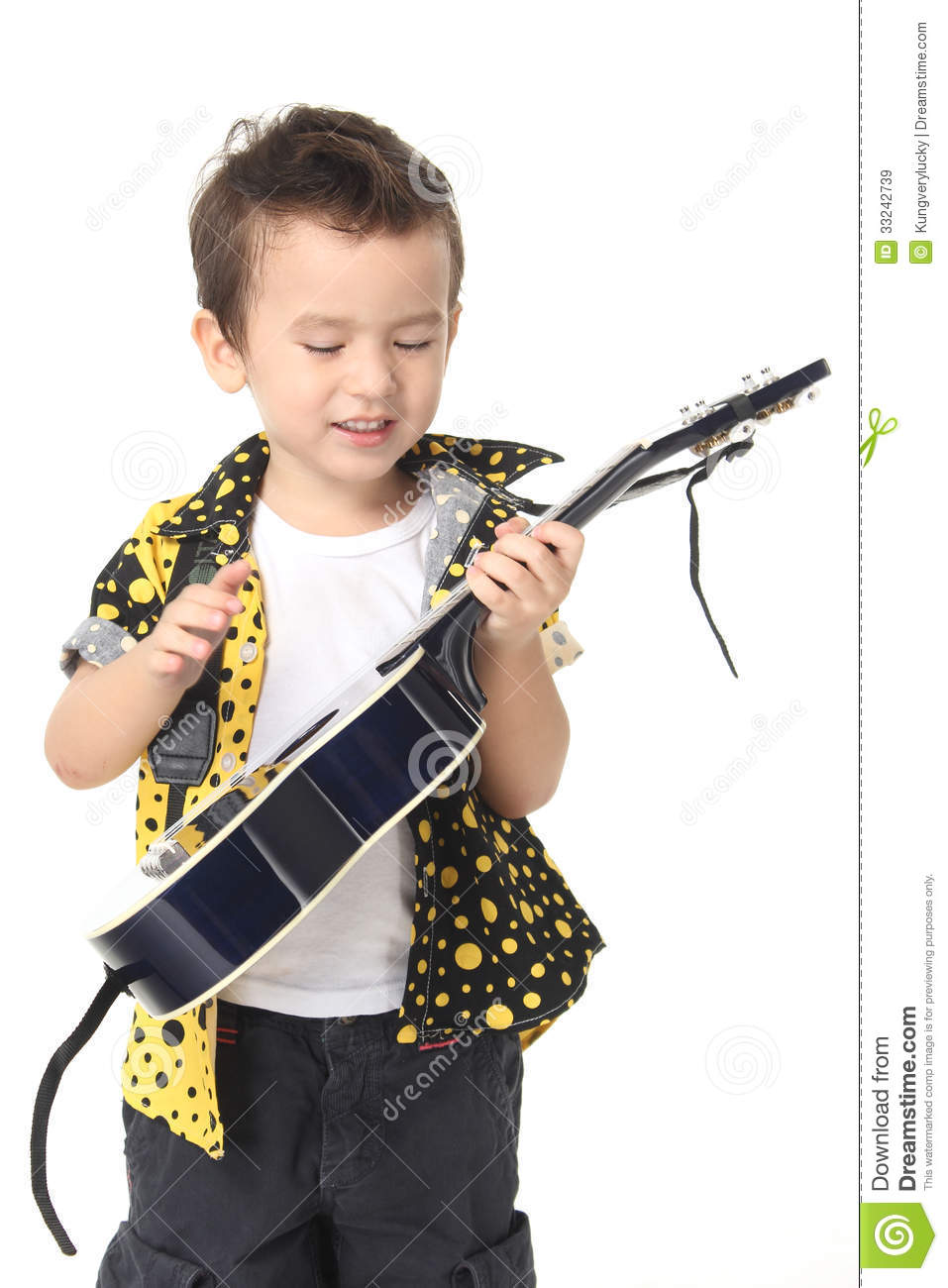Image result for picture of a little indian boy kid playing guitar
