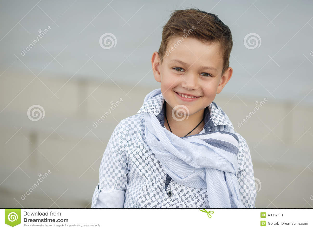 cute boy happy kid outdoors stock image image of city butterfly