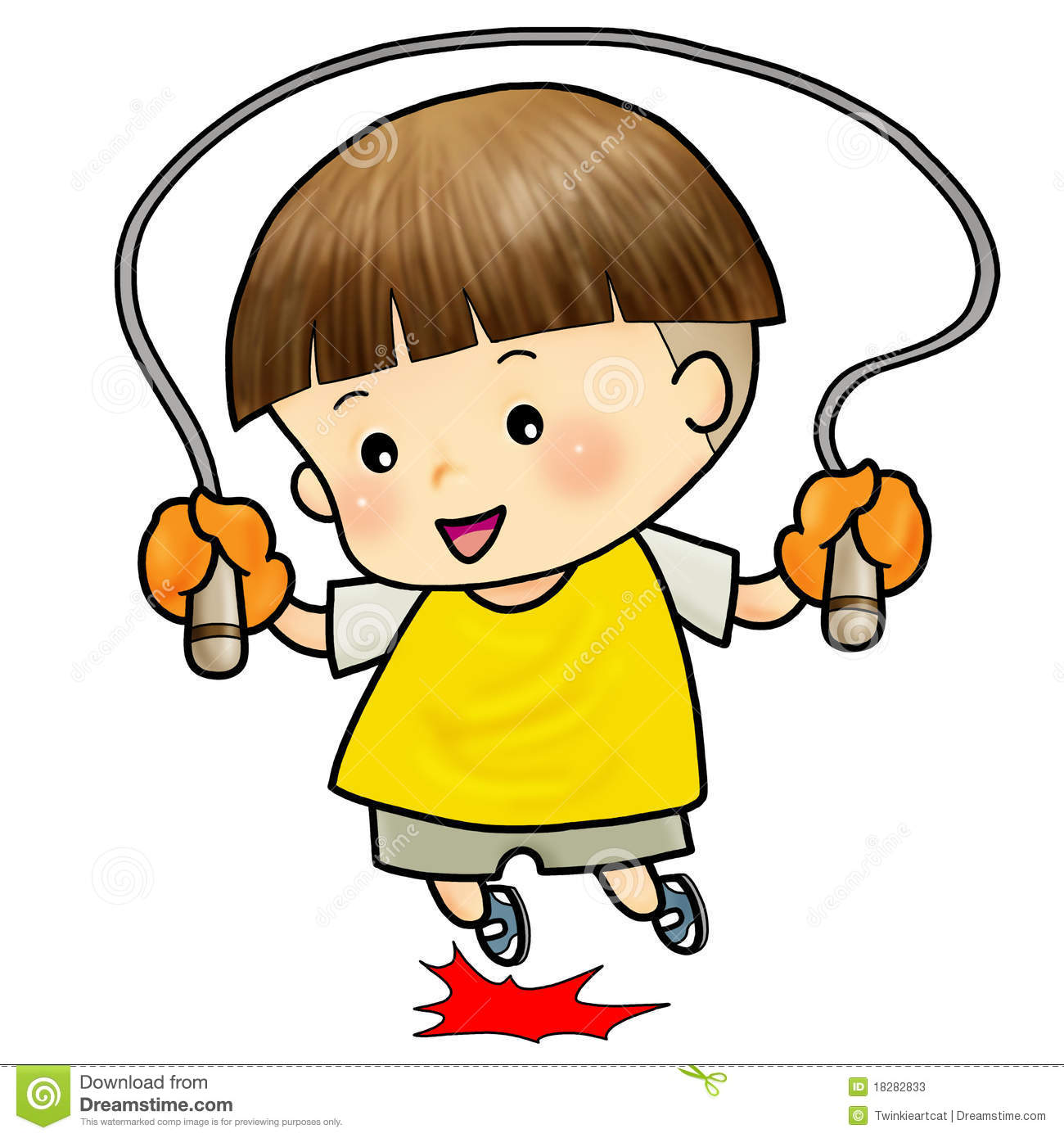 Cute Boy Jump W... Insect Drawings Clip Art