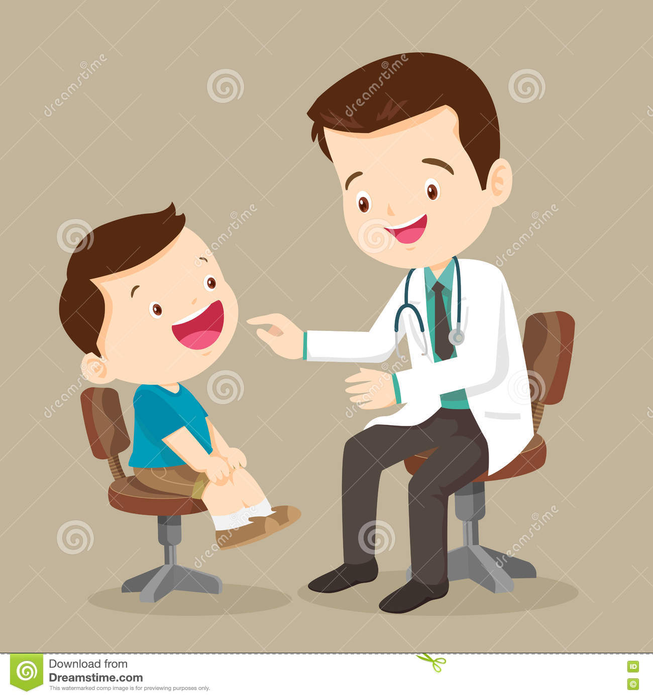 cute boy see doctor stock vector image 76073077 eye doctor clipart free printable eye dr clipart