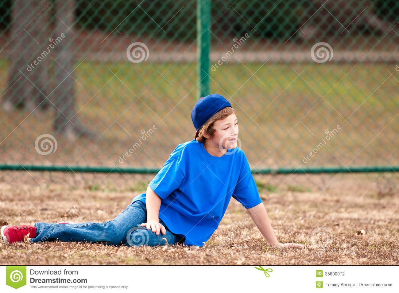 cute boy sitting on grass stock photo image of outside 35800072