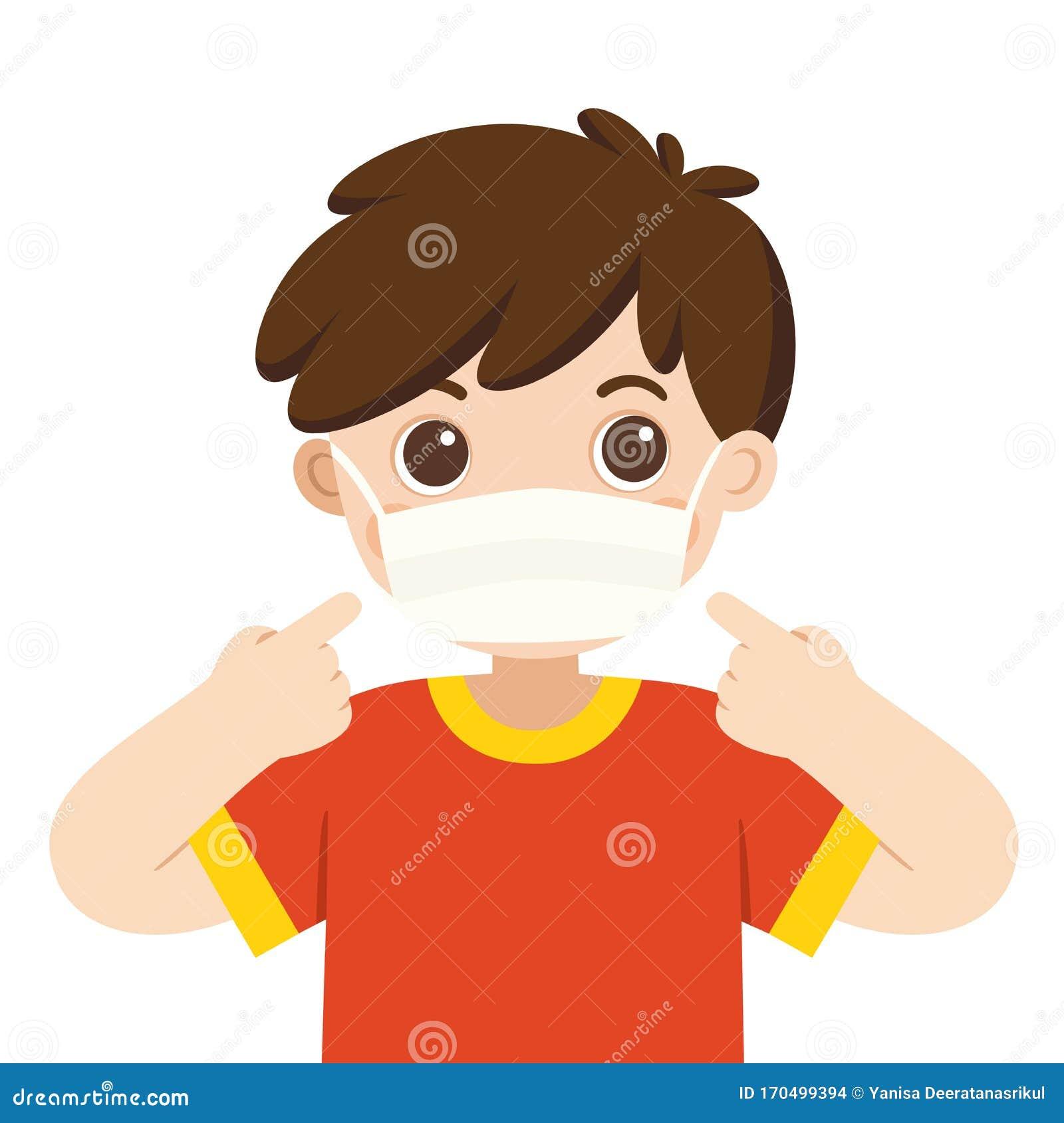 cute virus mask