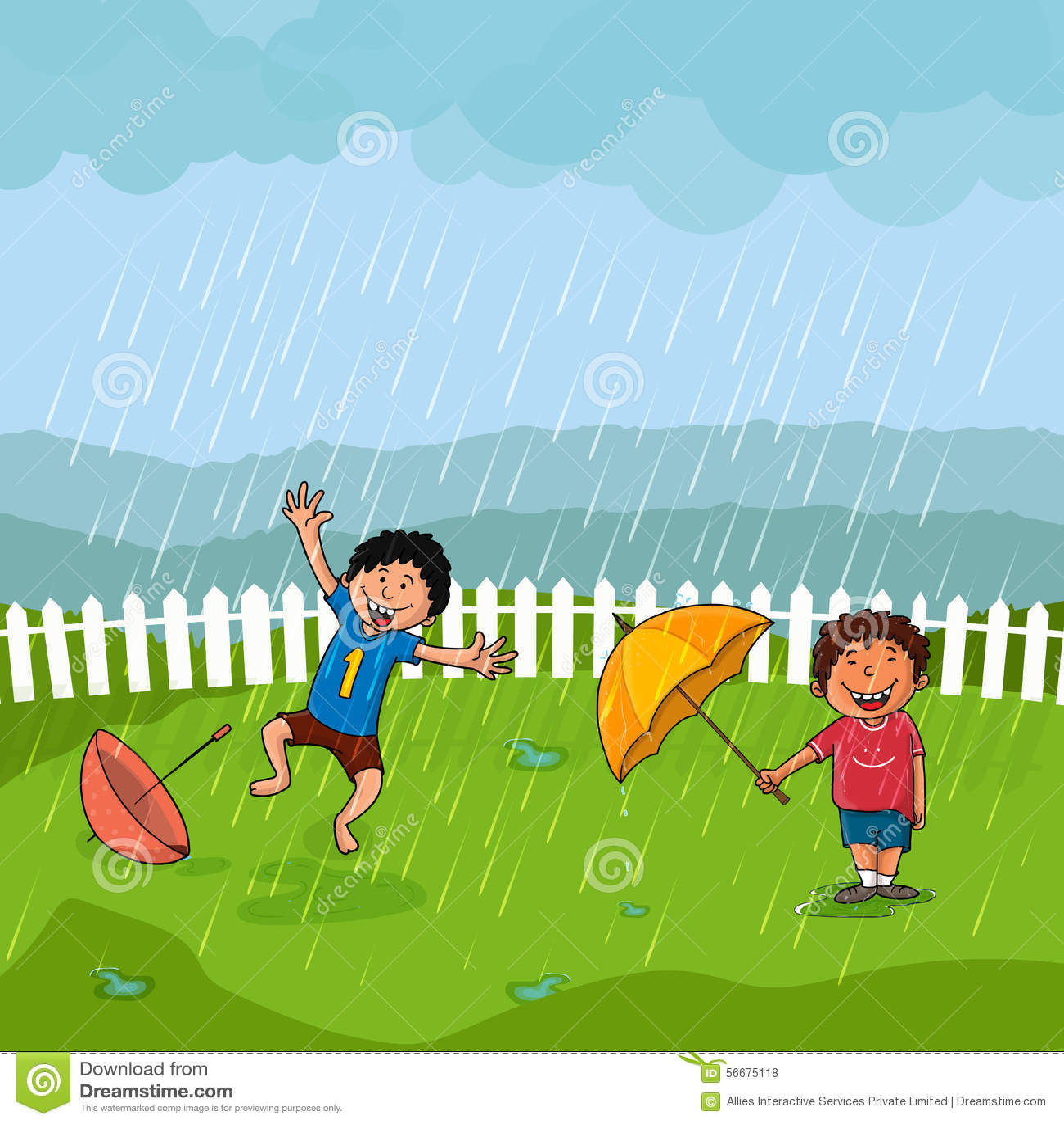 Kids Books About Rain
