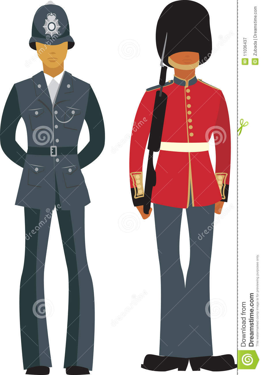 Cute British Officers Royalty Free Stock Photography - Image: 11036437