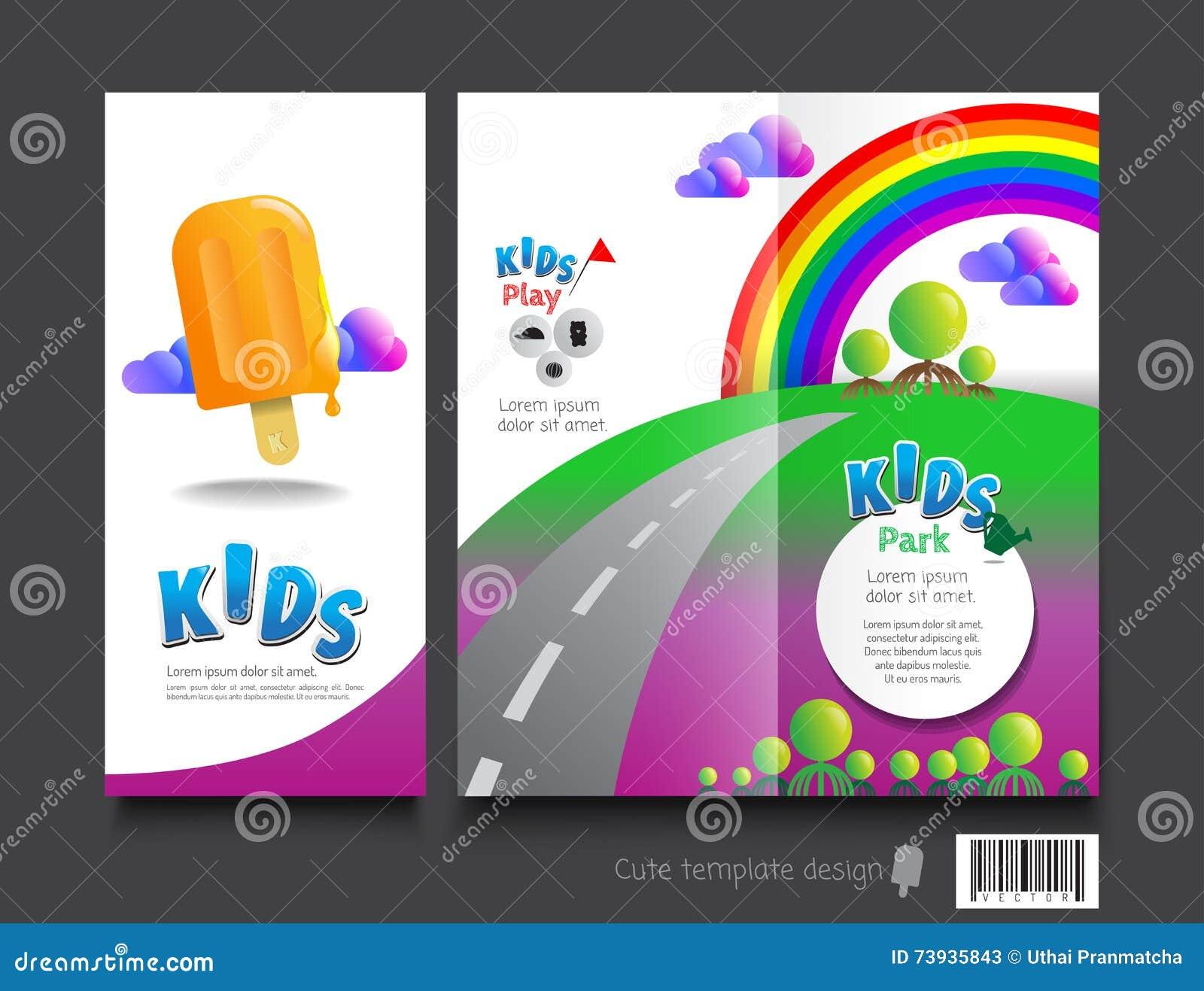 brochure templates for kids akba greenw co