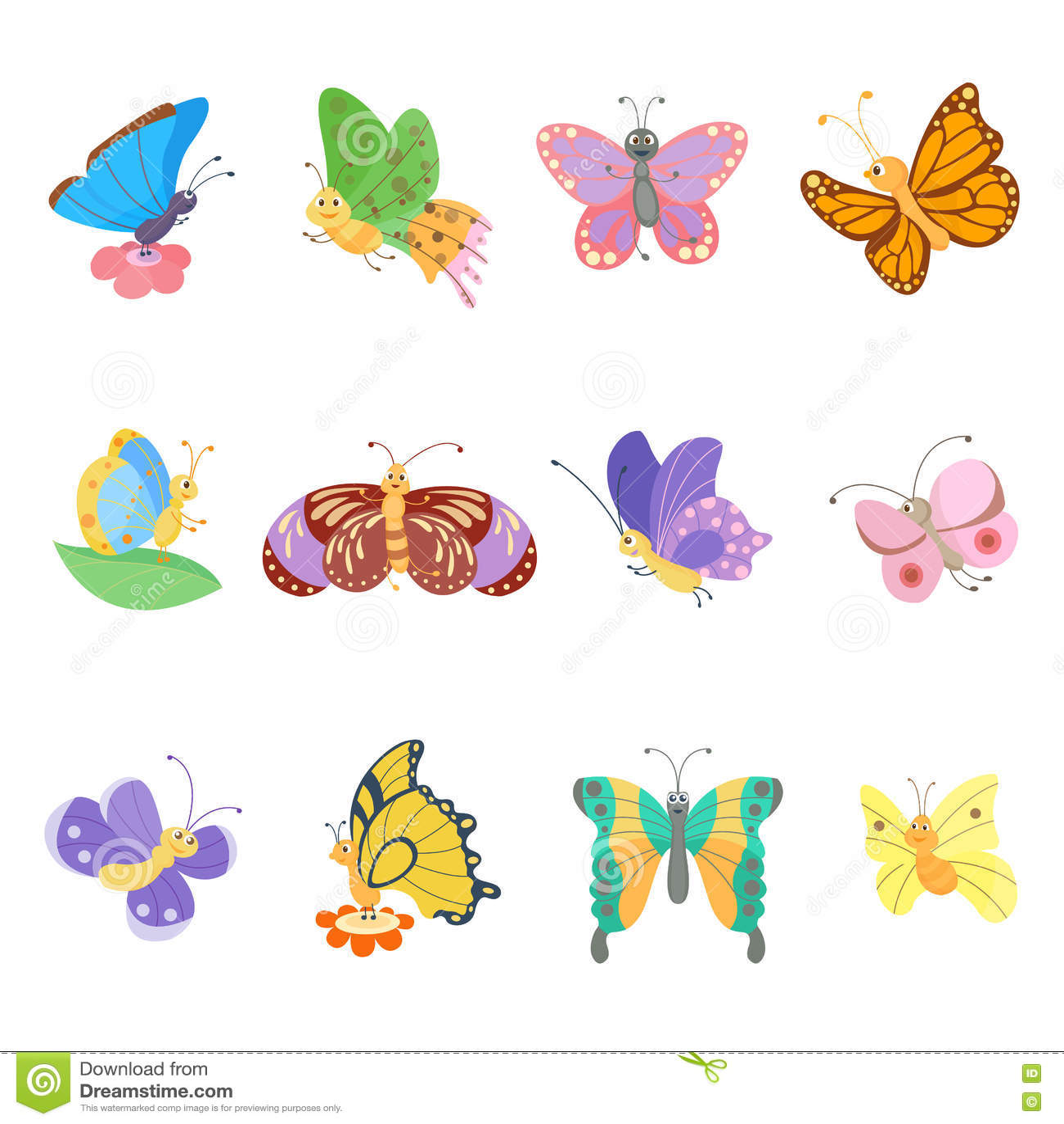 cute butterfly illustration wwwpixsharkcom images