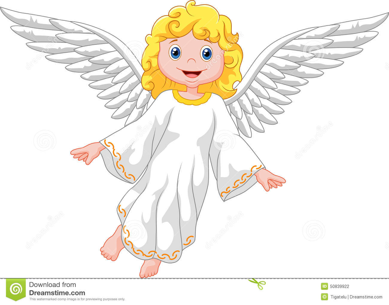 cute cartoon angel stock vector image 50839922 angel wings transparent clipart clip art angel wings images