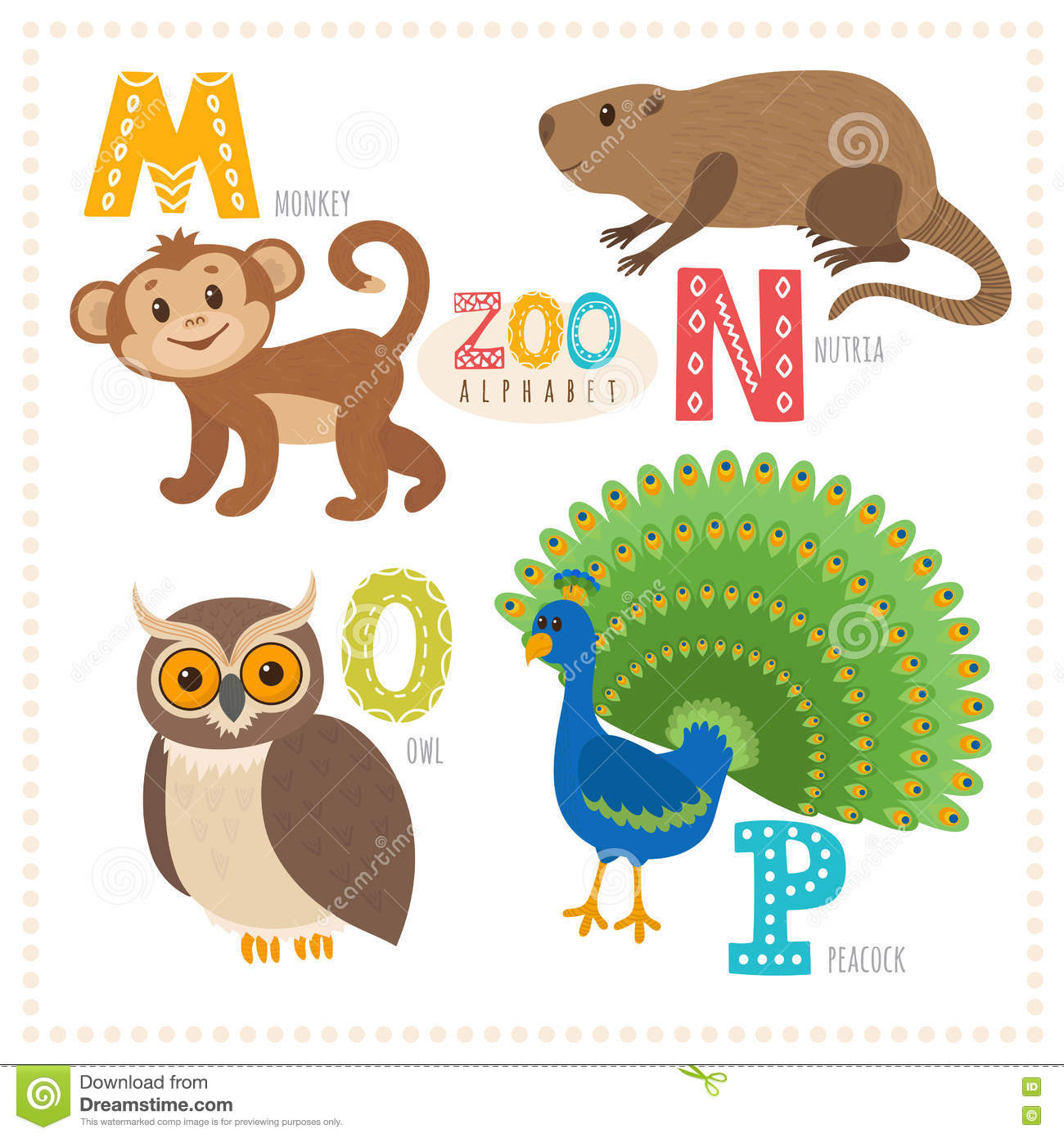 Zoo Animals That Start With The Letter Z