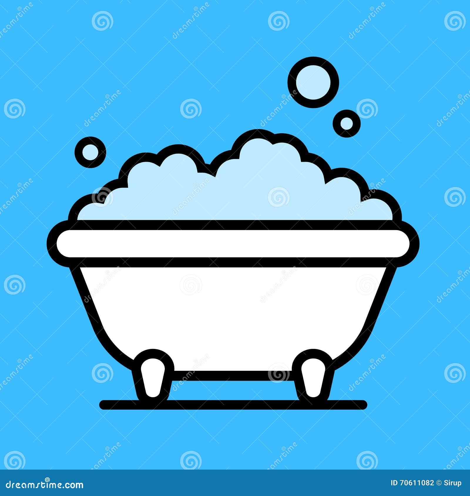 Cartoon Bathtub Stock Photography Image 38071882