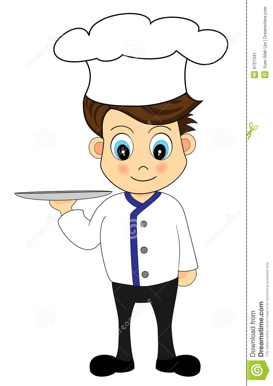 More similar stock images of ` Cute Cartoon Chef with a tray `