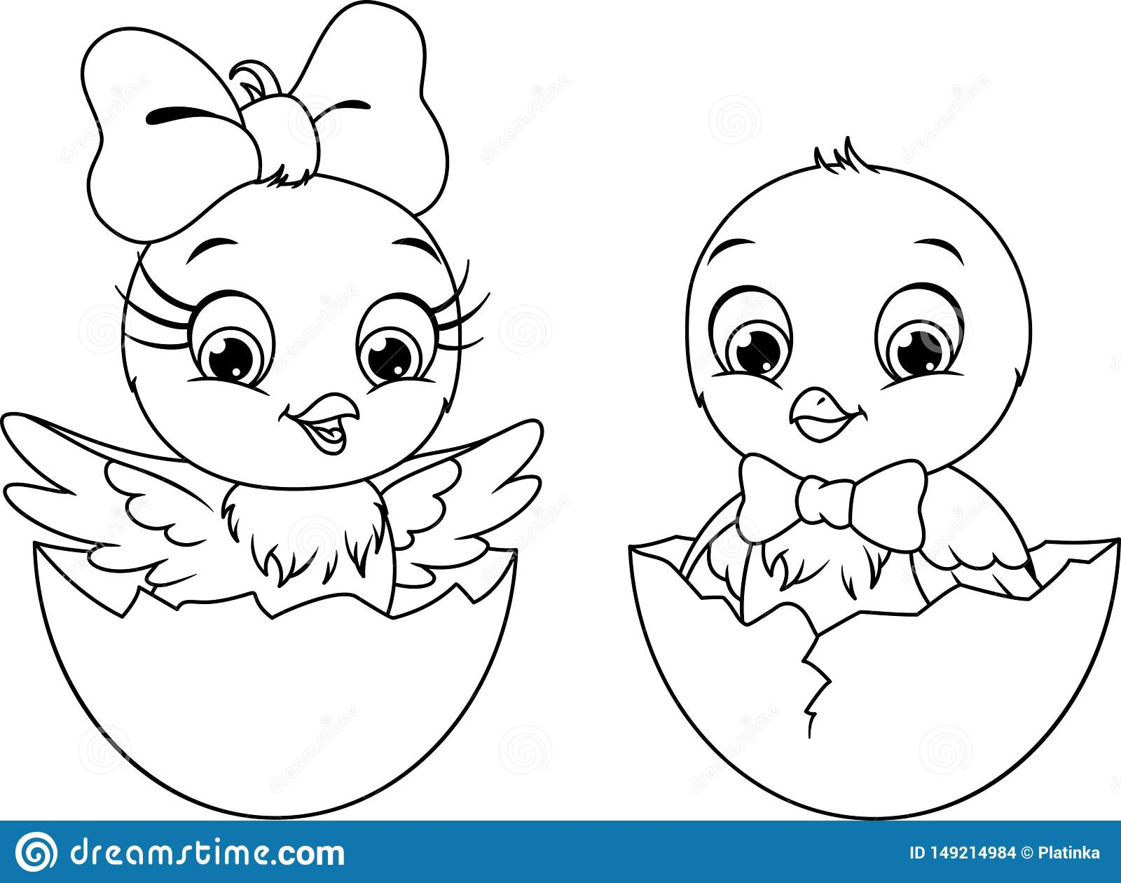 Chicken Lay Egg and Then Hatch Coloring Pages - NetArt | 1260x1600