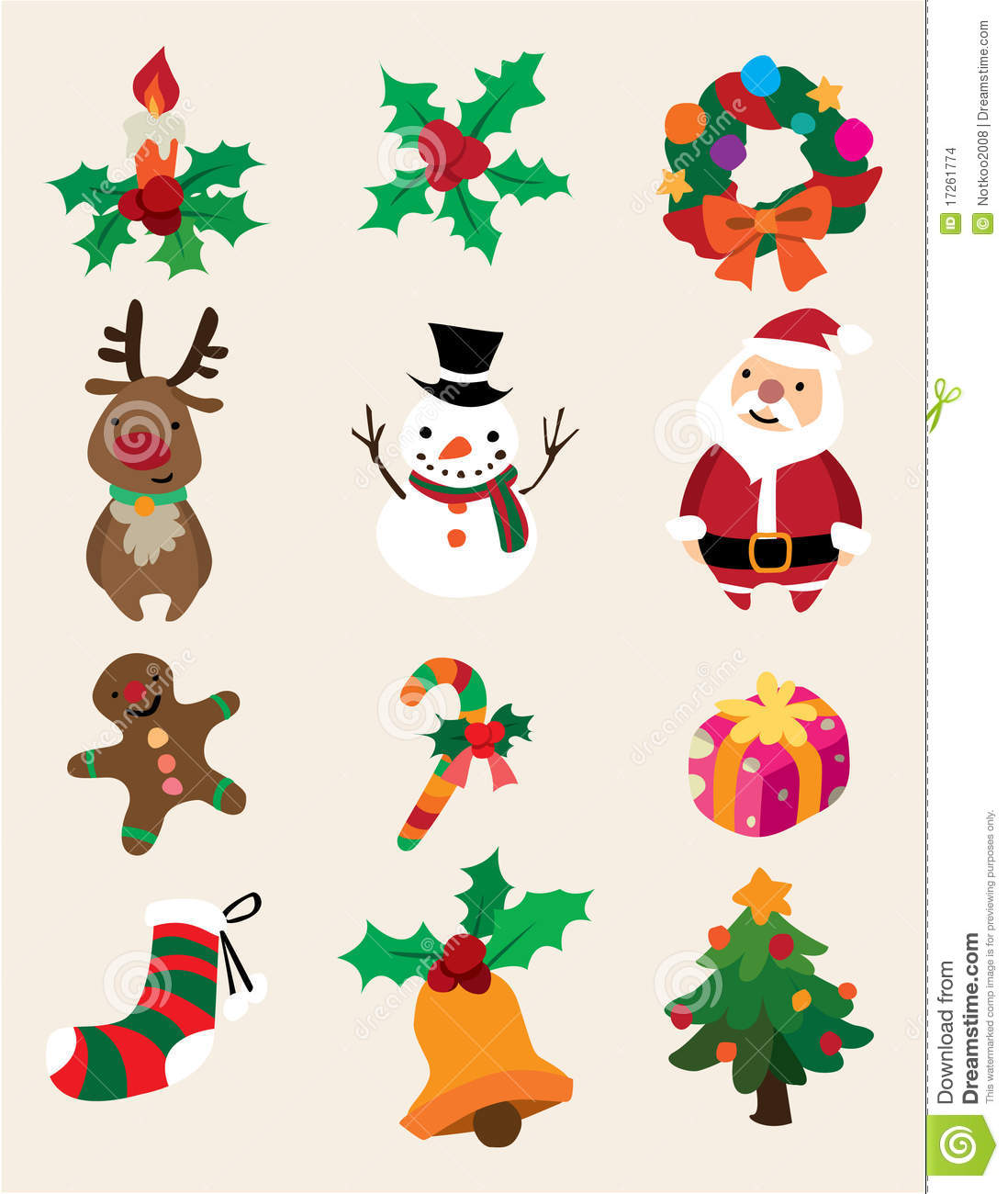 cute cartoon christmas pictures