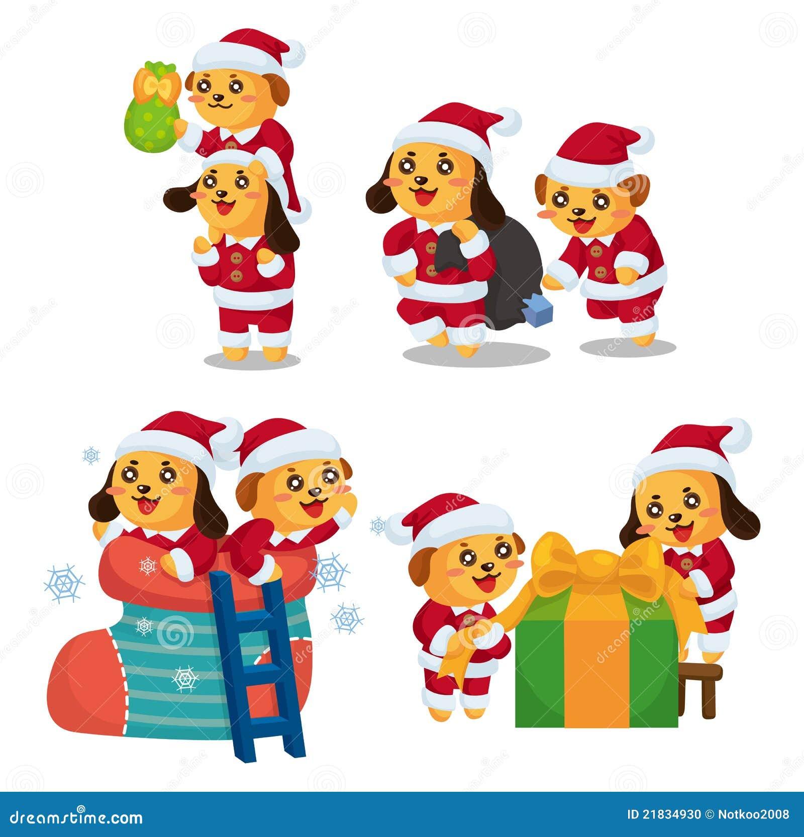 Cute cartoon christmas santa - photo#15