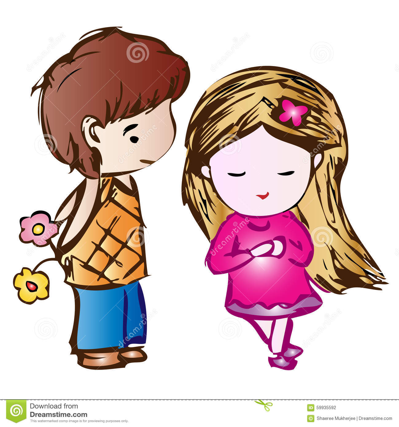 Must see Love Couple Cartoon HD Wallpaper Download - cute-cartoon-couple-boy-girl-59935592  Graphic_624334.jpg