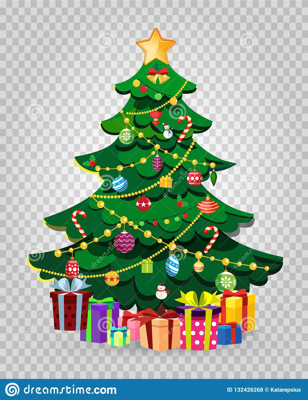 Cute Cartoon Decorated Christmas Fir Tree With Gifts And Presents Stock Vector Illustration Of Gifts Christmas 132426268 C4d max 3ds dae fbx oth obj. https www dreamstime com cute cartoon decorated christmas fir tree gifts presents many present boxes star balls garland isolated transparent image132426268