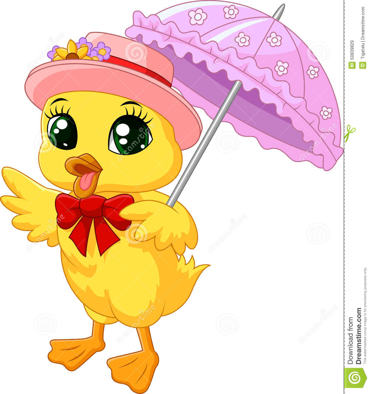 cute cartoon duck with pink umbrella stock illustration cowgirl clipart images transparent cowgirl clipart borders