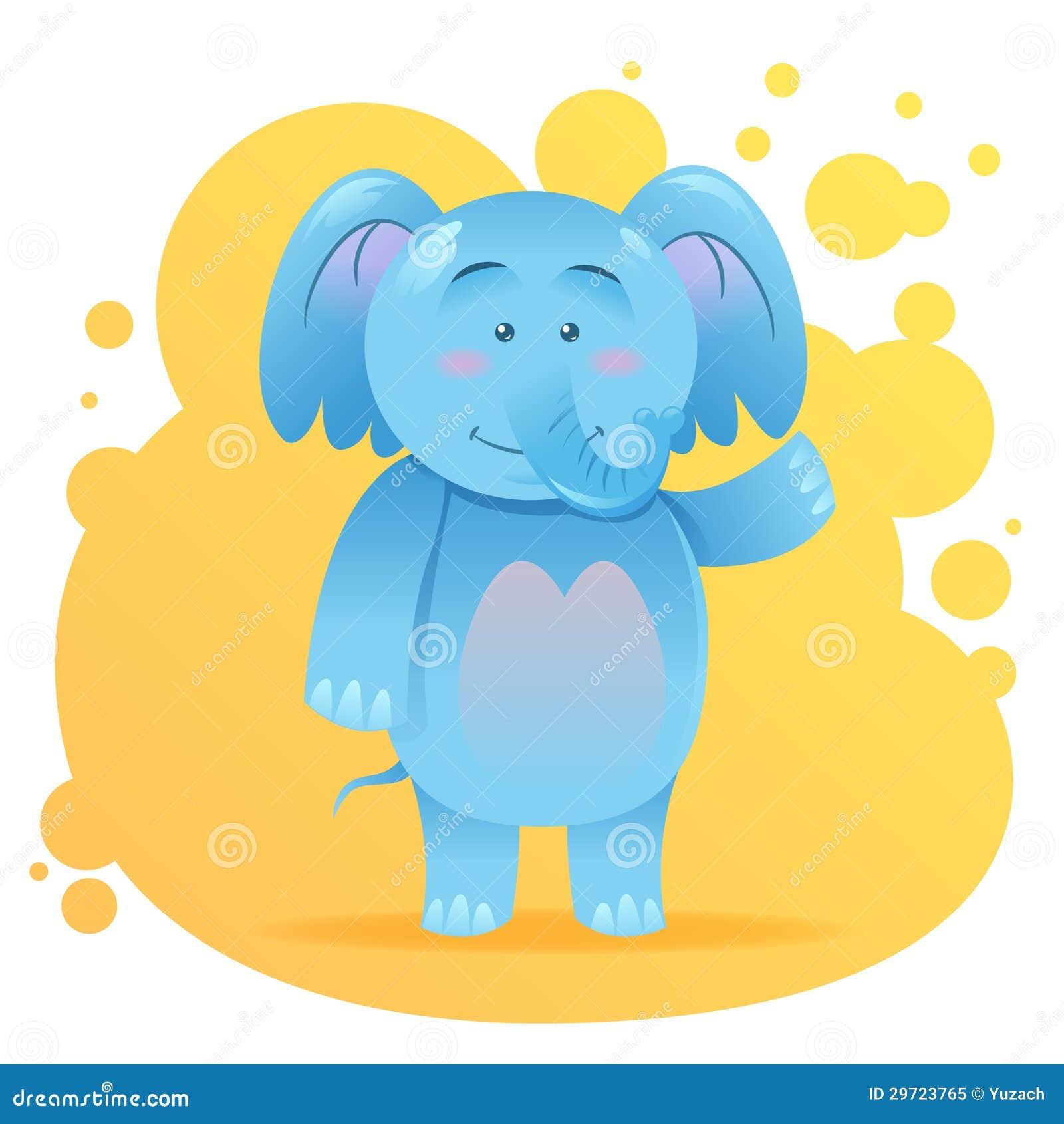 Cute Cartoon Elephant Toy Stock Illustrations – 2,519 Cute ...