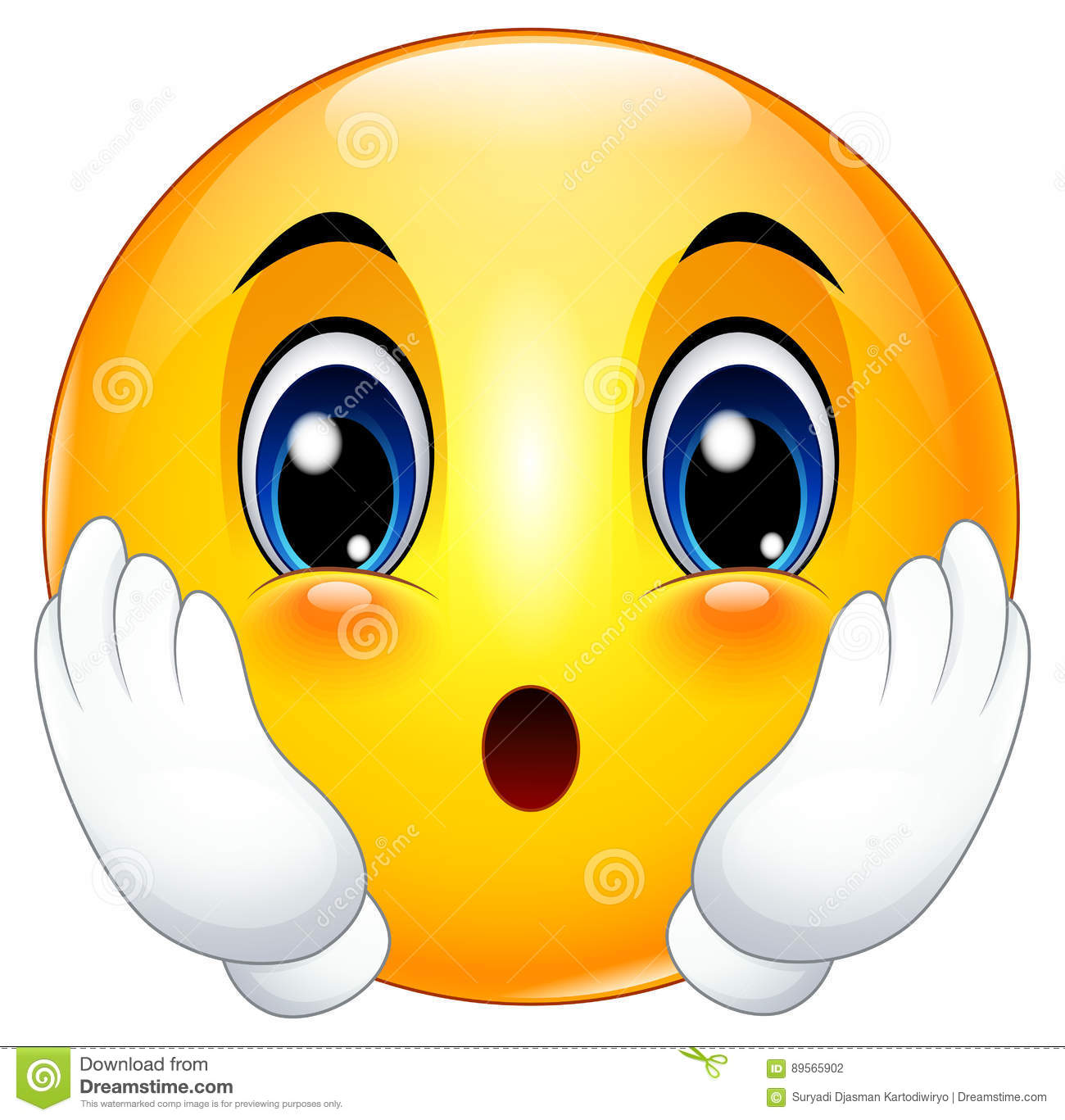 cute cartoon emoticon astonished stock vector free happy face pictures clip art free happy face pictures clip art