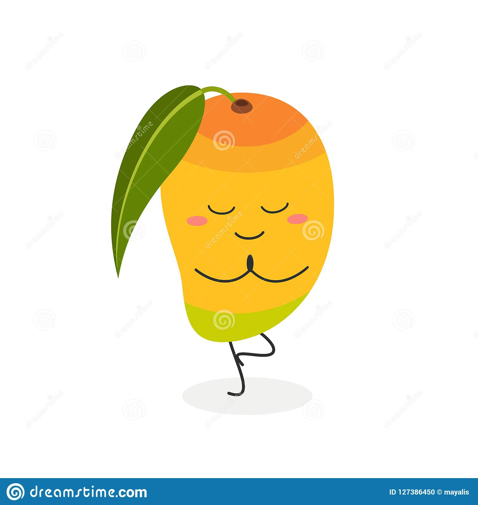 Mango Tree Cartoon Picture