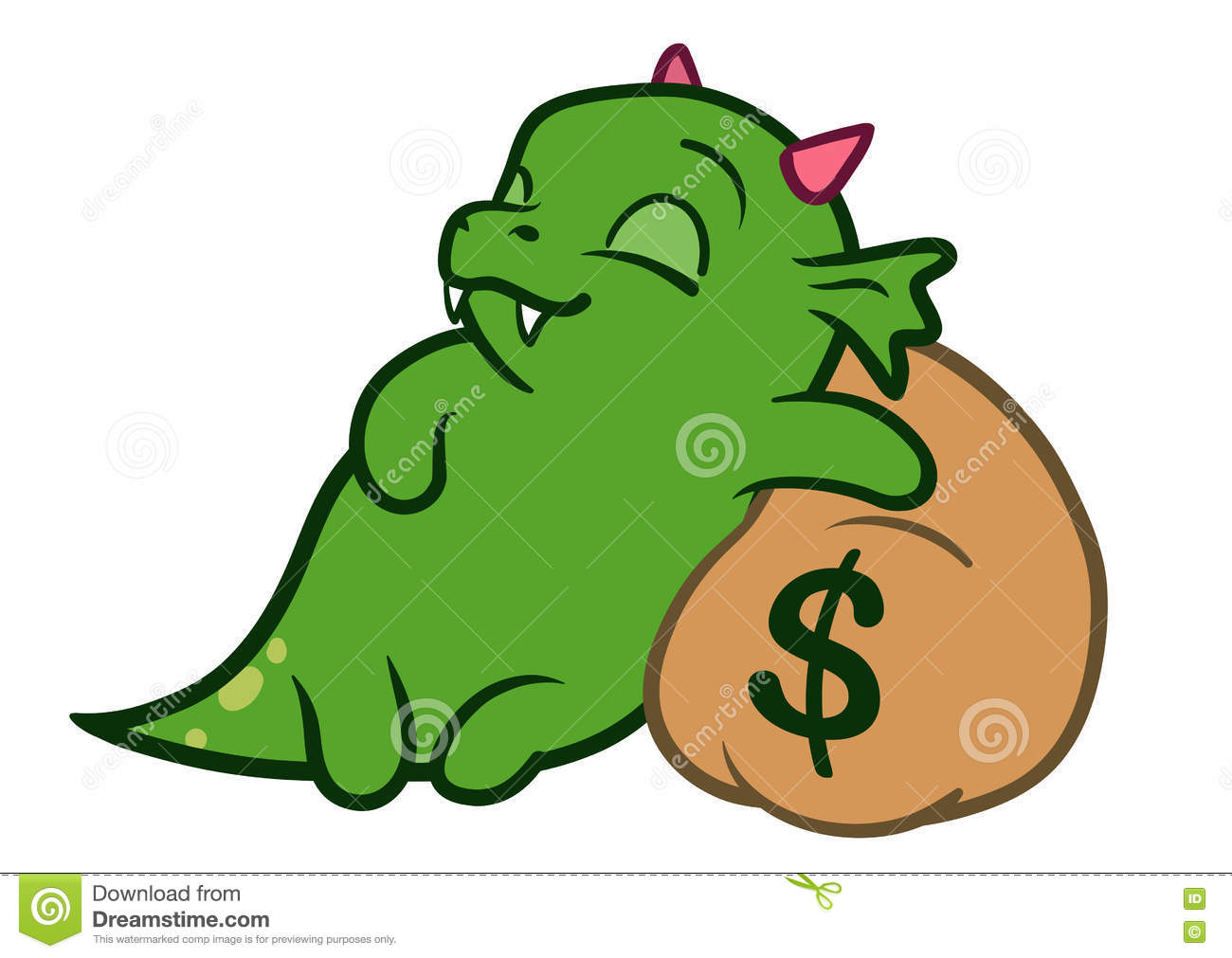 Cute Money Debt Worry Pound Sign Cartoon Vector ...
