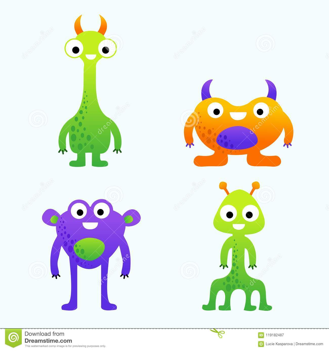 It's just a picture of Stupendous Monster Pictures for Kids