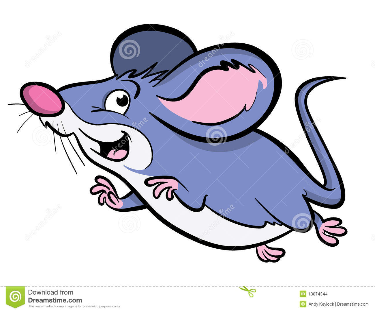 cute cartoon mouse stock vector illustration of smiling 13074344 rh dreamstime com cartoon mouse pictures free cartoon mickey mouse pictures