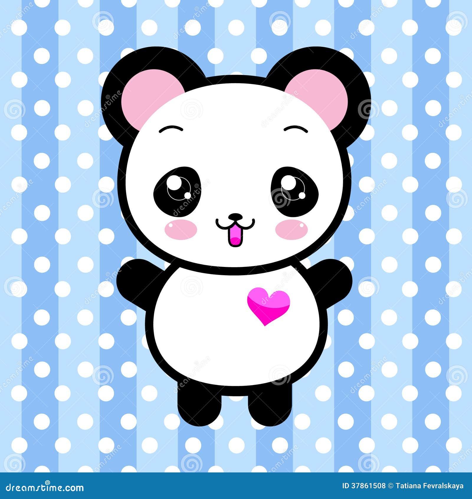 Cute anime panda pics