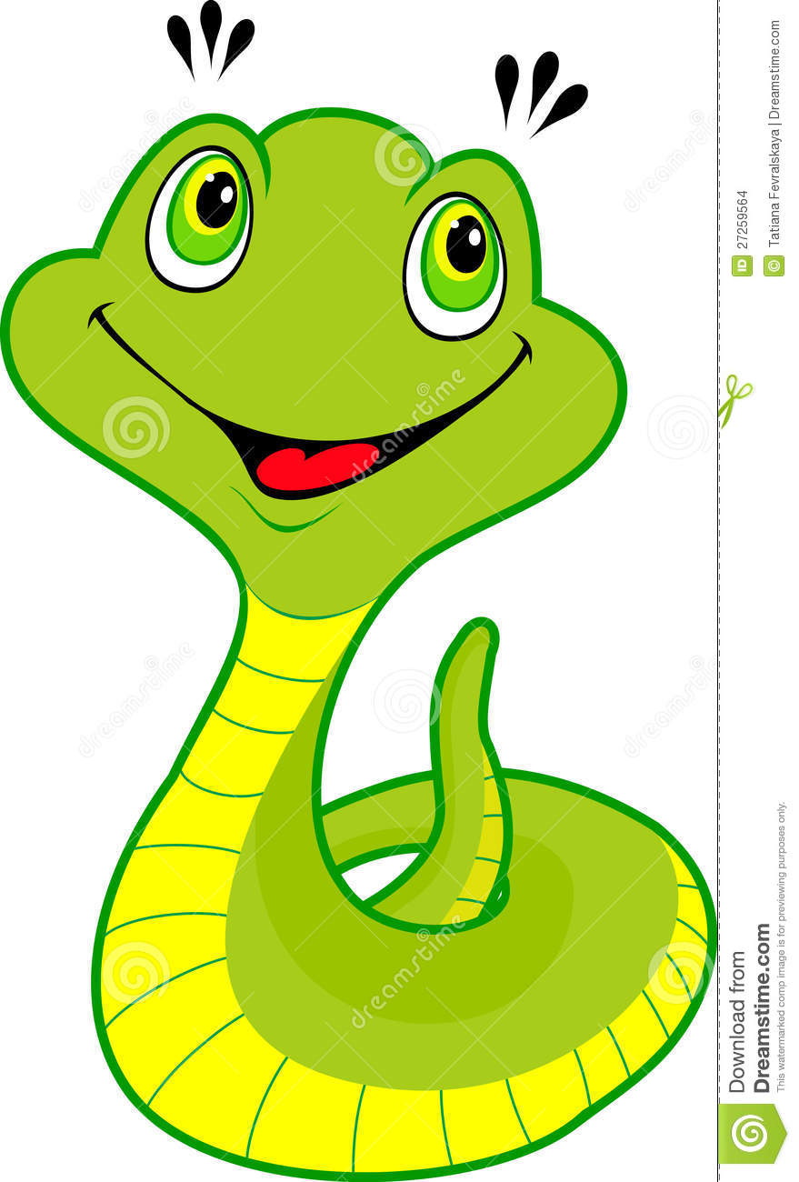 More similar stock images of ` Cute cartoon snake `