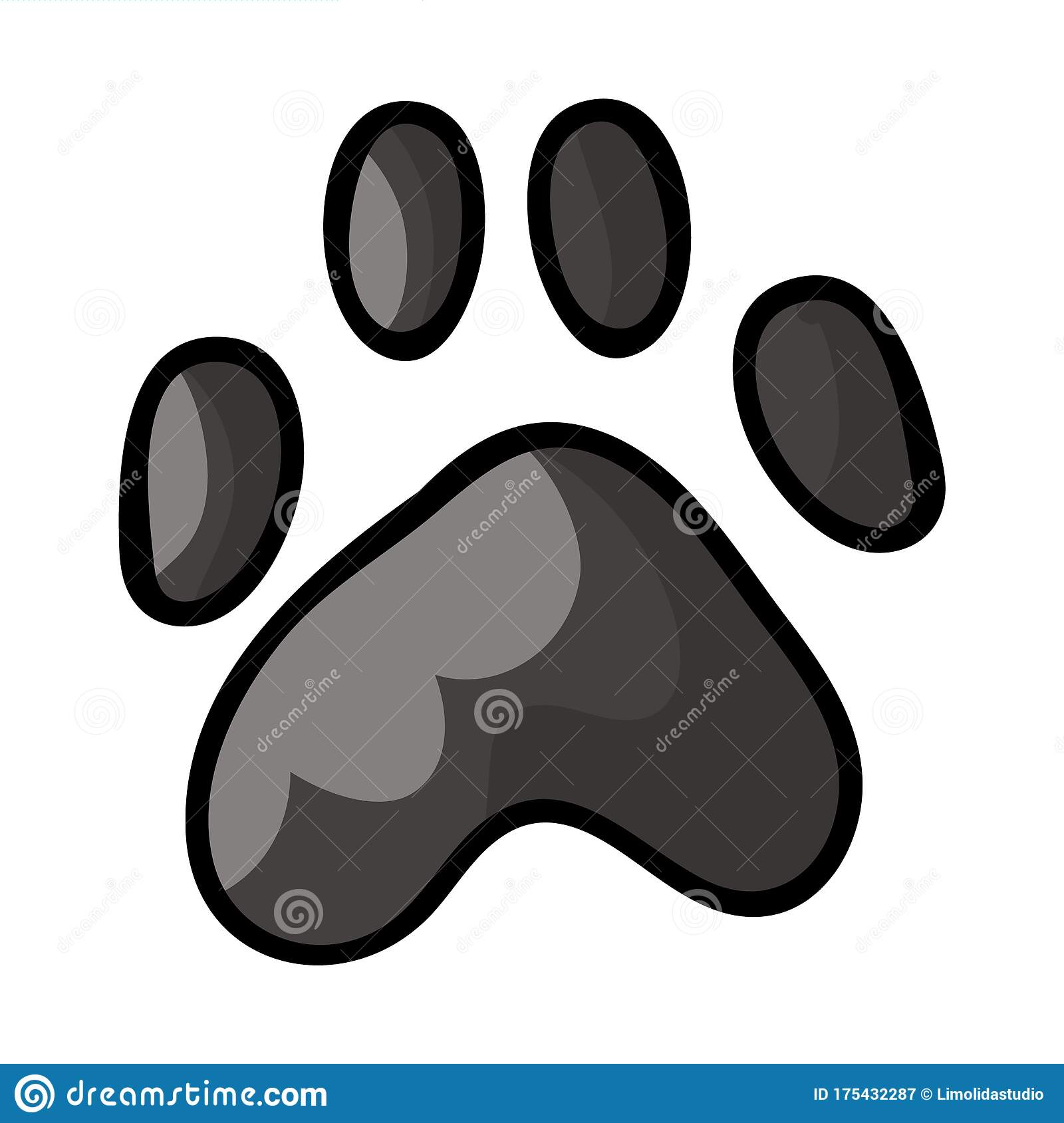 Dog paw prints dog paw print free clipart design download - WikiClipArt