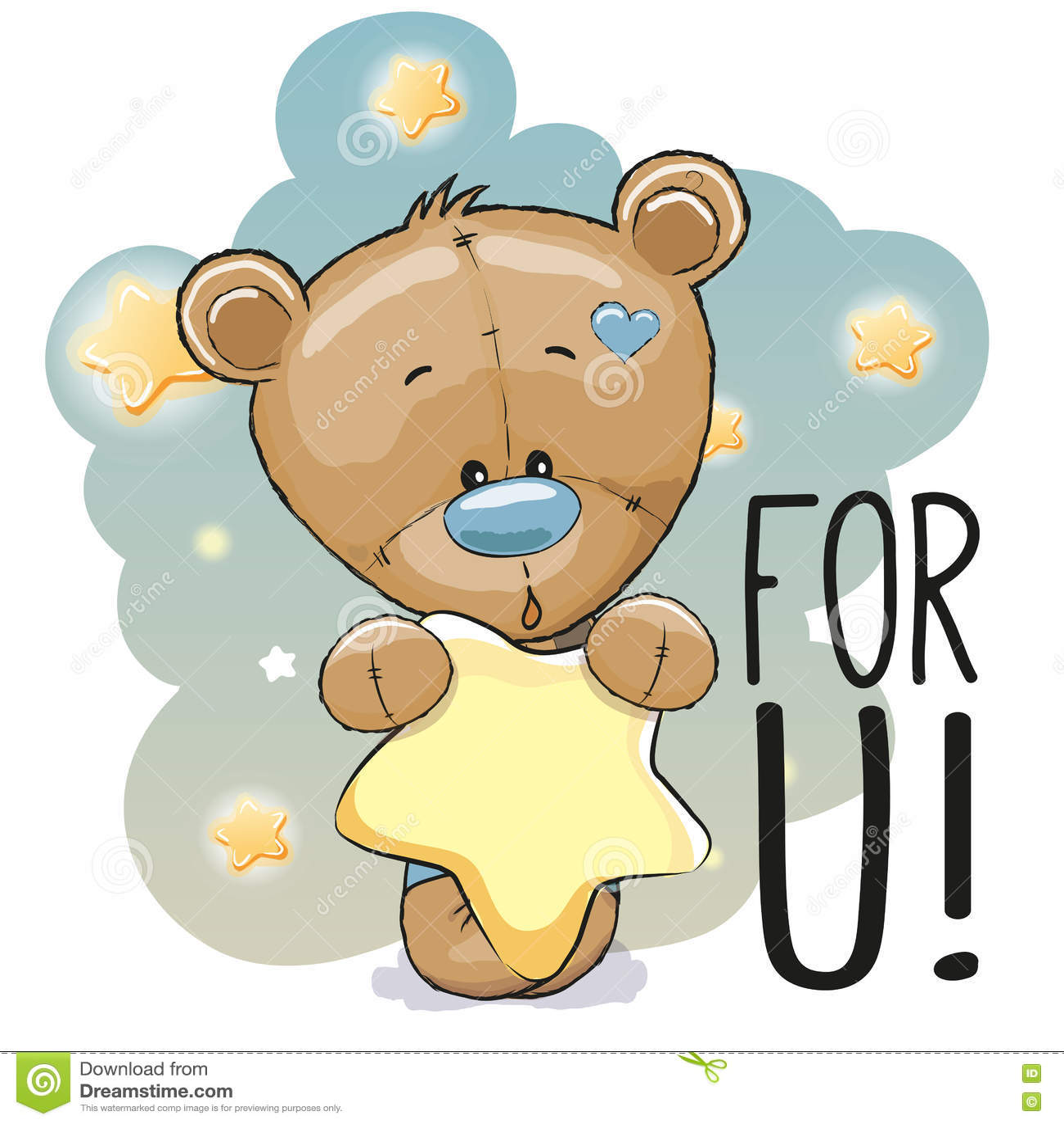 cute bear cartoon royalty free cartoon cartoondealer com Teddy Bear Baby Cub Teddy Bear Baby Cub