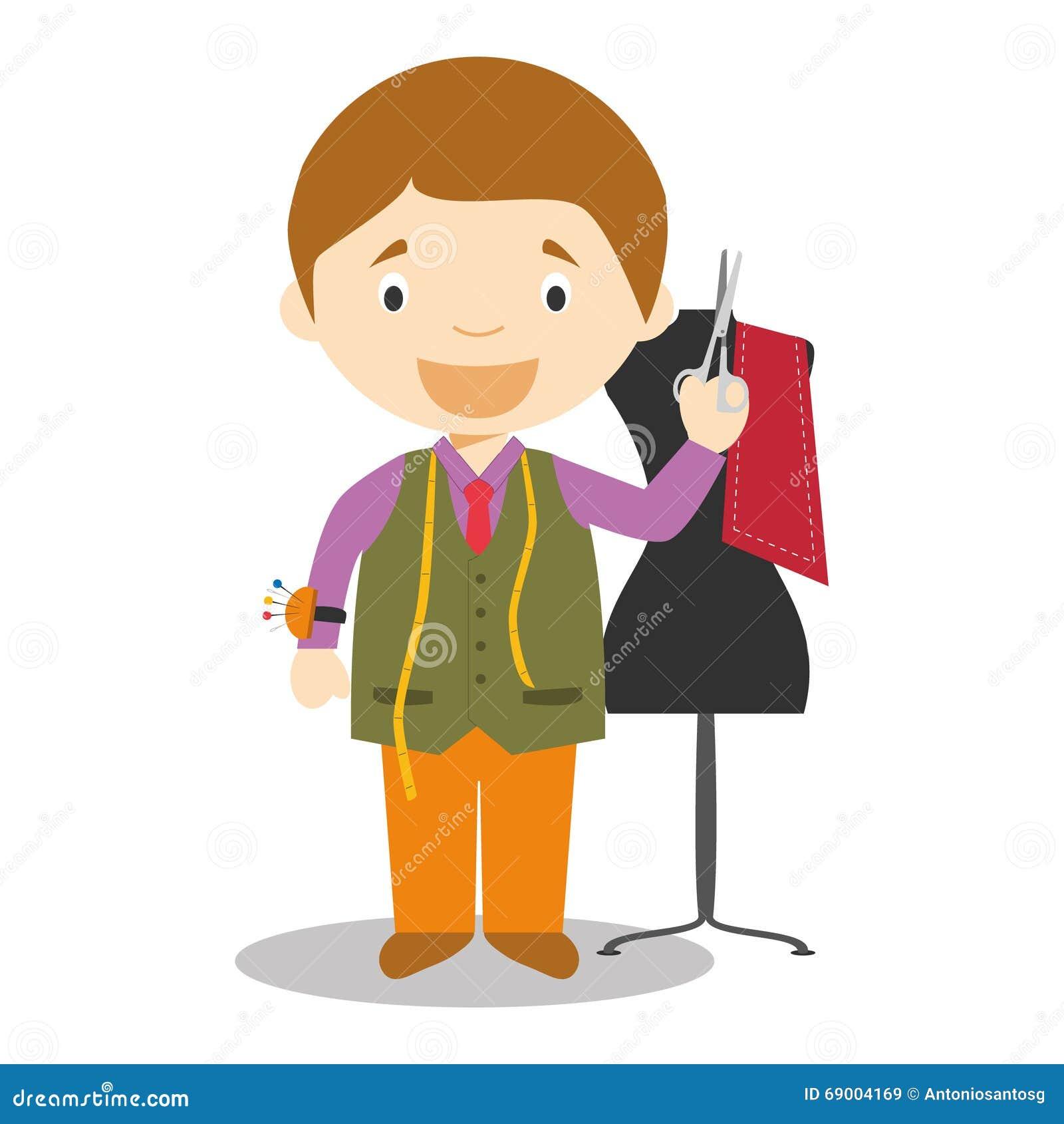 JOB SERIES Dressmaker, Dummy Stock Photos - Image: 2780583