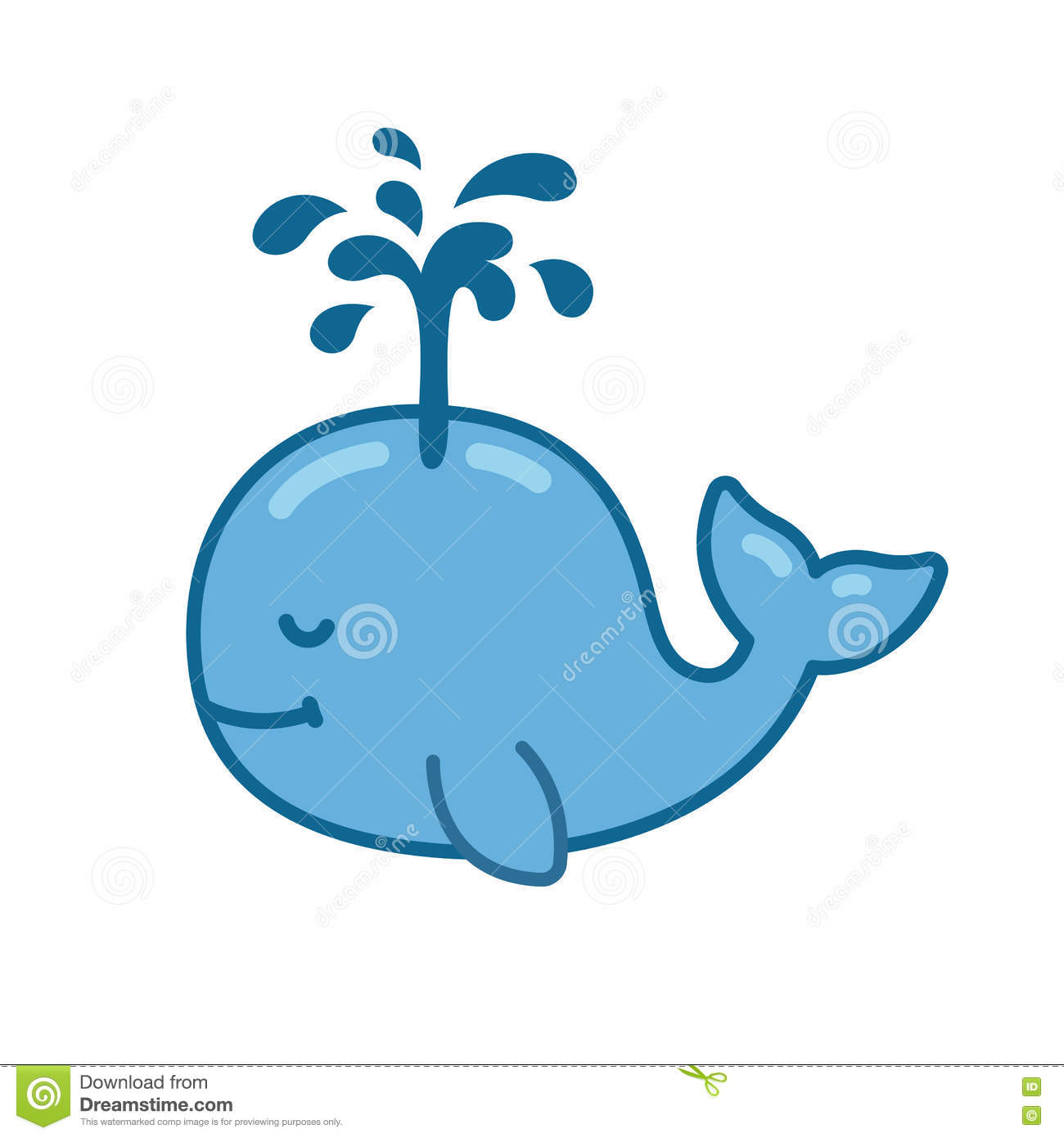 smiling baby whale cartoon stock illustrations 125 smiling baby rh dreamstime com Baby Whale Cartoon Clip Art Baby Gray Whale Cartoon
