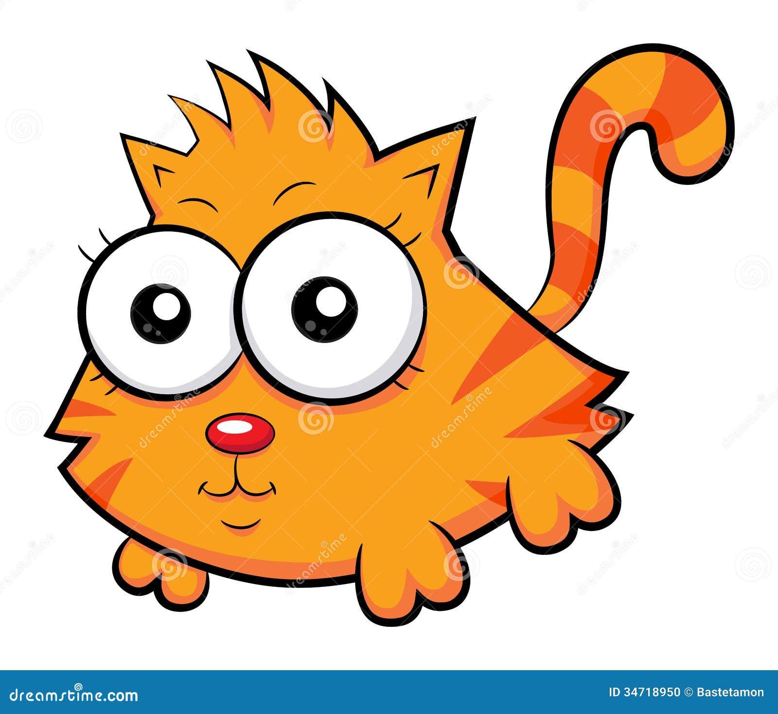 Cute Cat Stock Photo - Image: 34718950