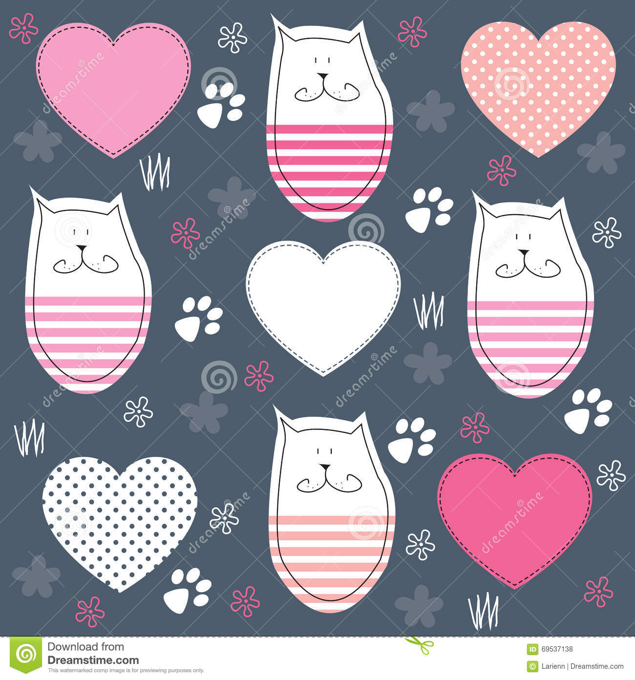 paw print collection  vector  cartoon vector bear claw graphic Bear Claw Designs