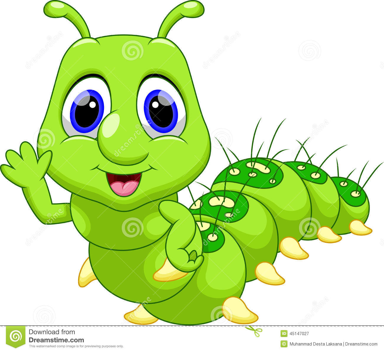 cute caterpillar cartoon stock illustration image 45147027 inchworm clipart free inchworm clip art for kids