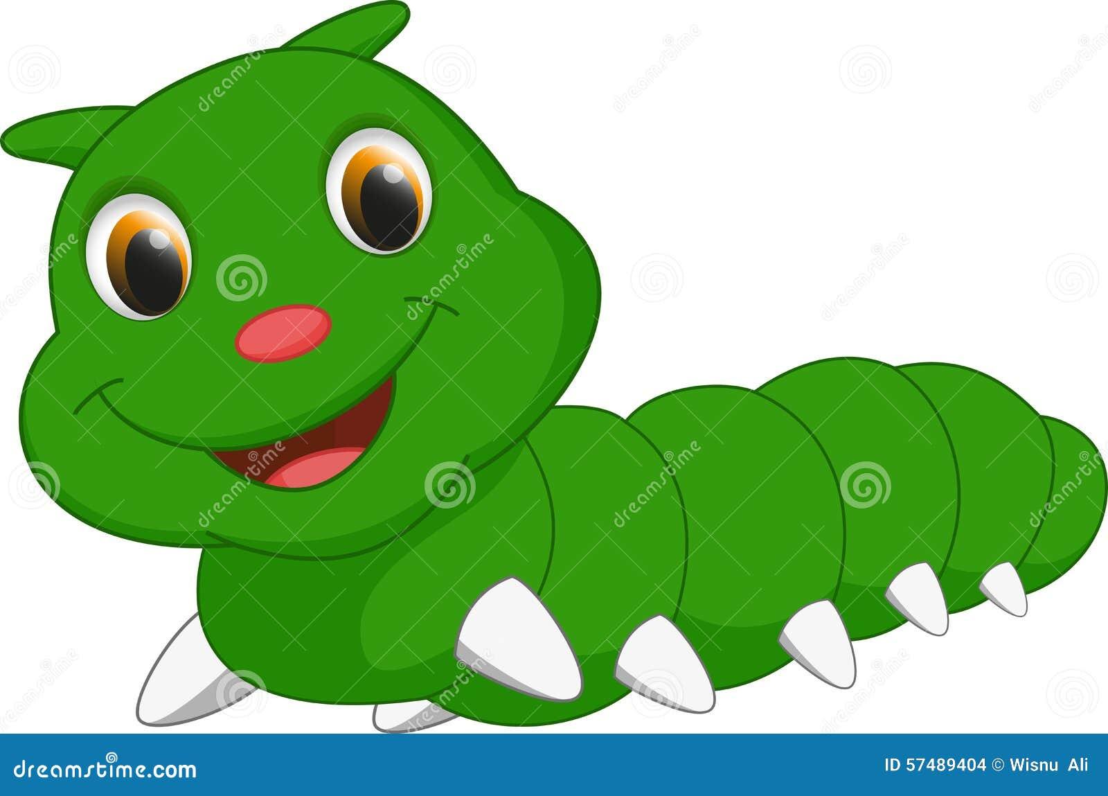 Cute caterpillar cartoon stock vector. Illustration of ... for Clipart Cute Caterpillar  155fiz
