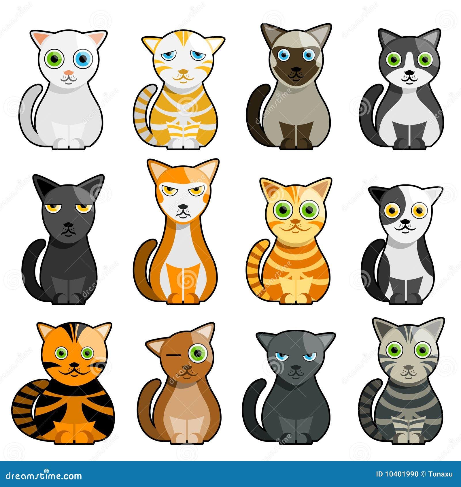 Girls Cat Objects