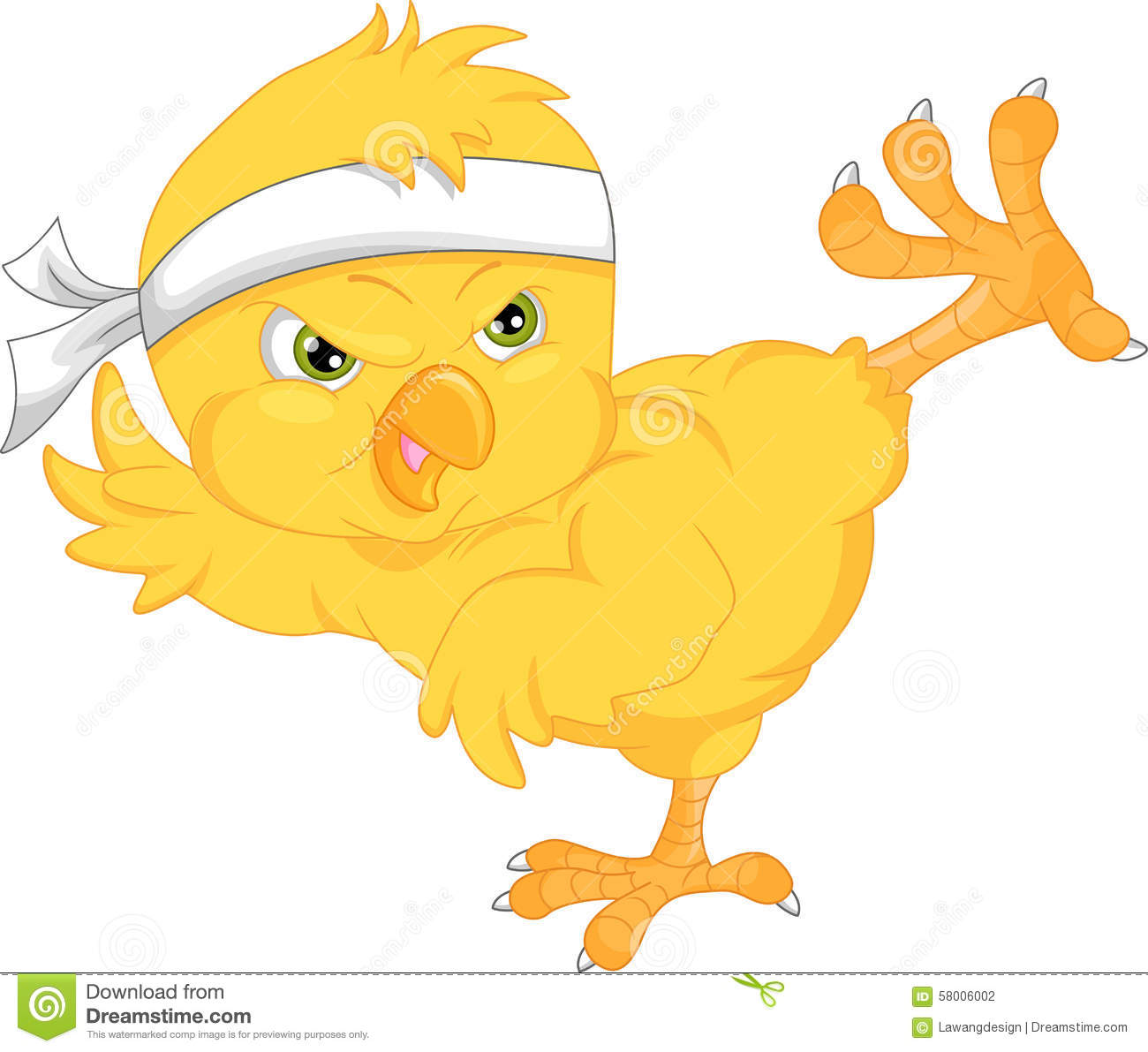 Stock Illustration Cute Chick Cartoon Vector Illustration Image5800600...