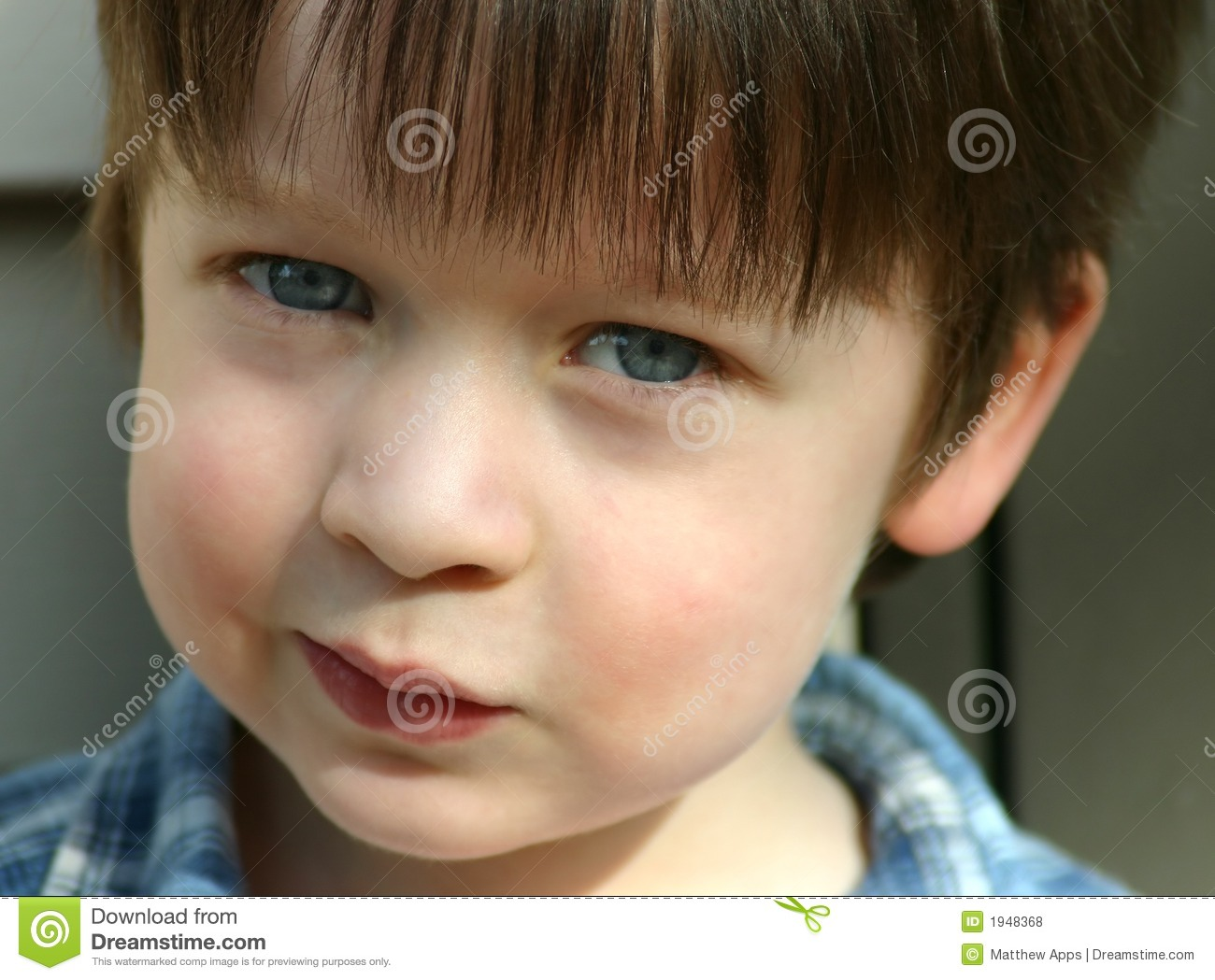 funny child little boy with blue eyes close up portrait of kid