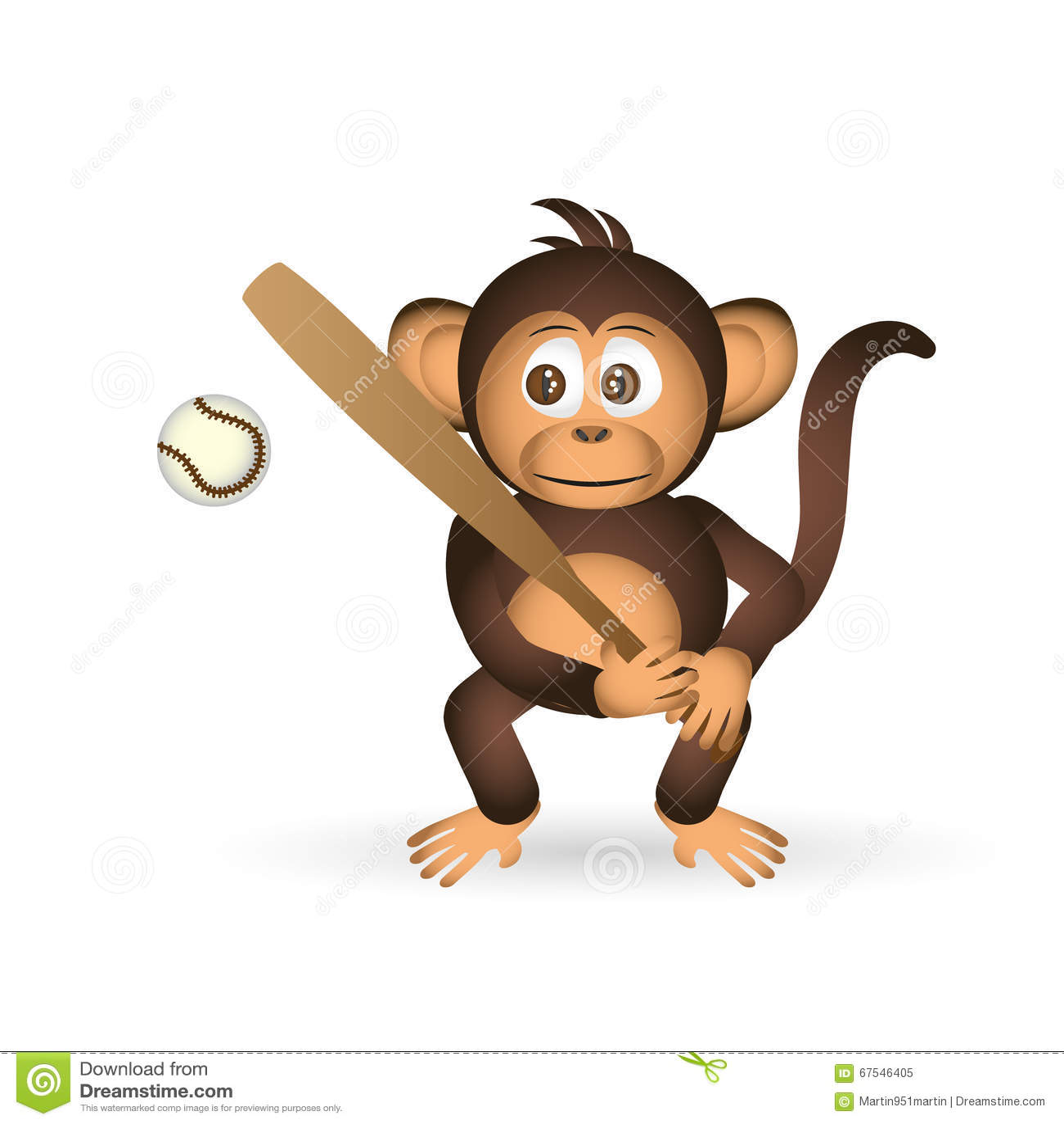Little Chimpanzee Royalty-Free Stock Photography ...